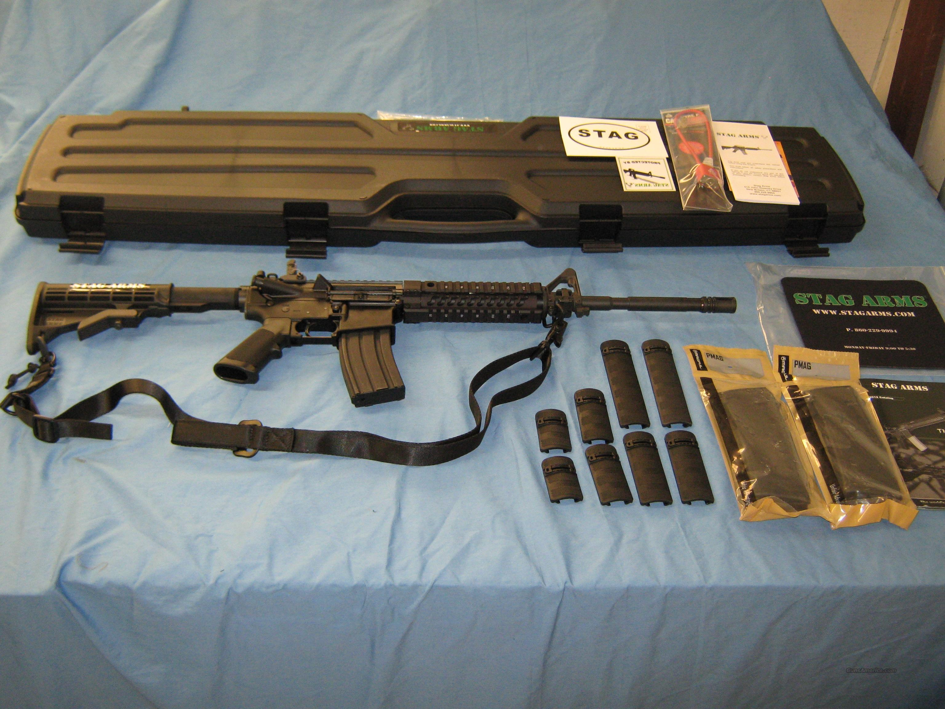 ON SALE!  STAG ARMS M2T Model 2T with Extras  Guns > Rifles > Stag Arms > Complete Rifles