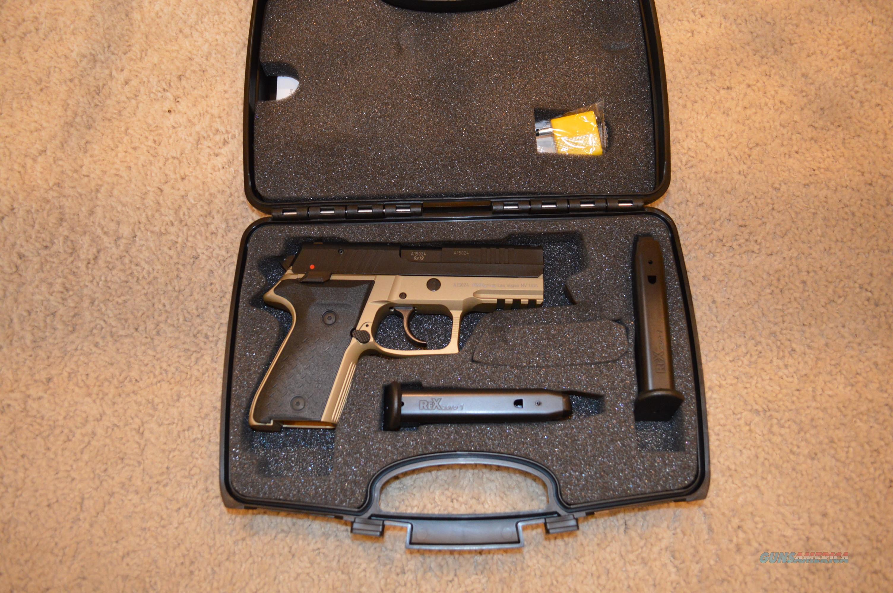 Fime Arex Rex Zero 1CP   Guns > Pistols > FIME Group Pistols > Rex Zero 1