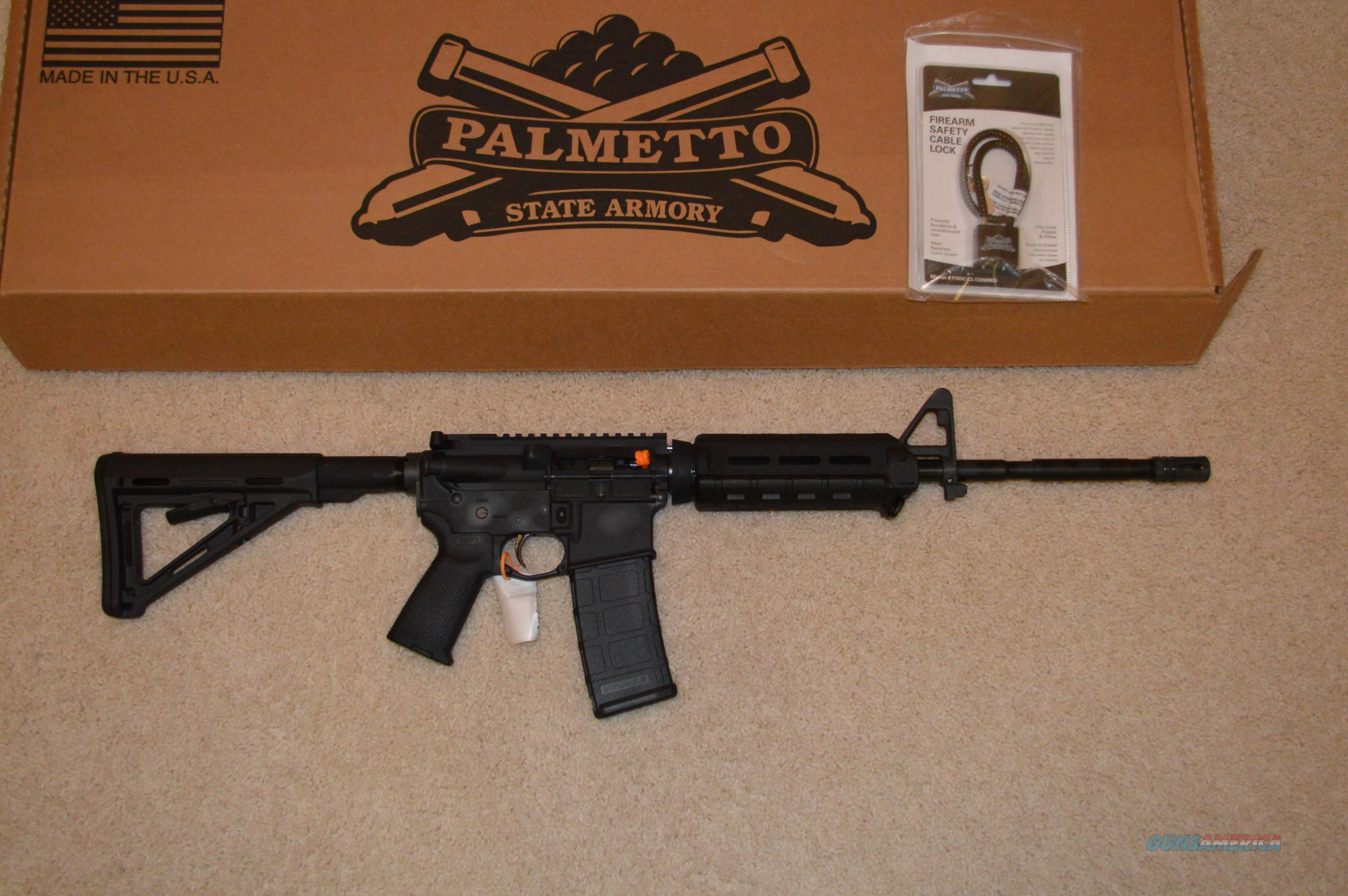 Palmetto State Armory MOE Freedom AR-15  Guns > Rifles > AR-15 Rifles - Small Manufacturers > Complete Rifle