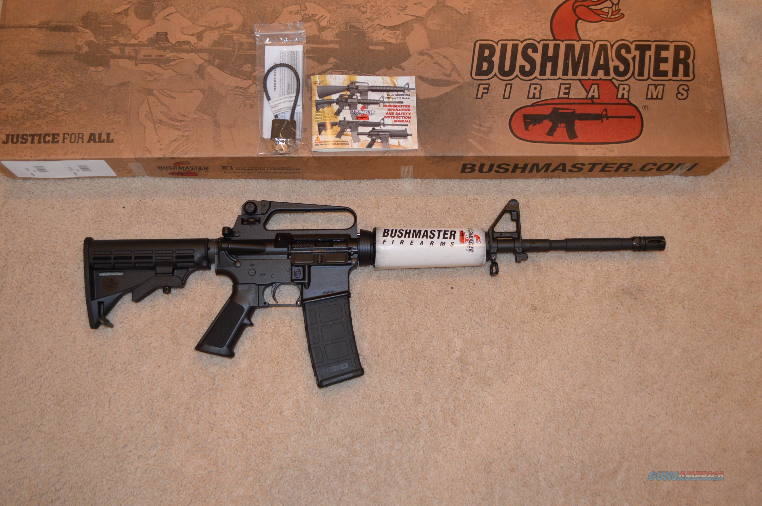 On Sale! Bushmaster Patrolman Rifle + Extras  Guns > Rifles > Bushmaster Rifles > Complete Rifles