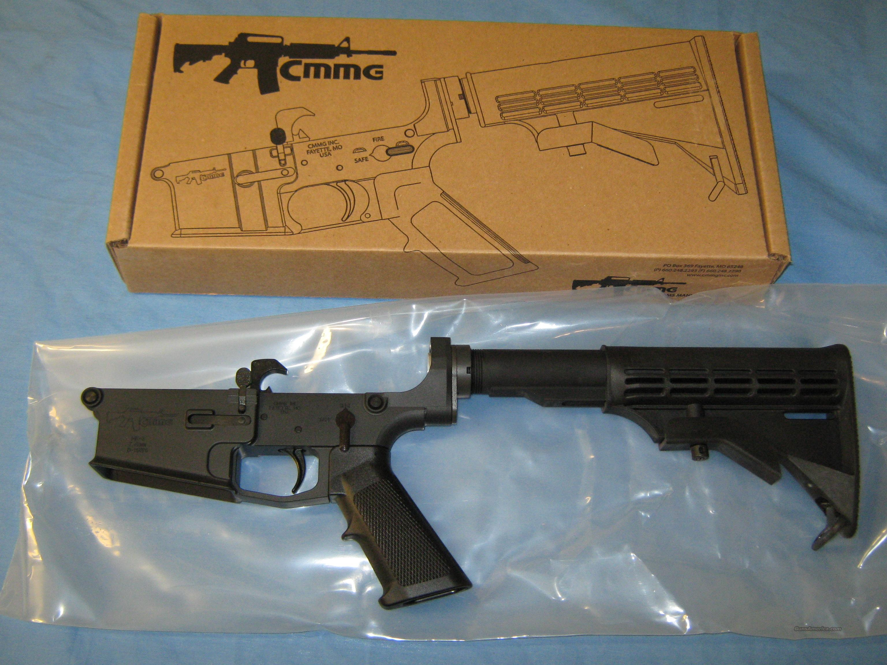 ON SALE! CMMG 308 Complete Lower  Guns > Rifles > AR-15 Rifles - Small Manufacturers > Lower Only