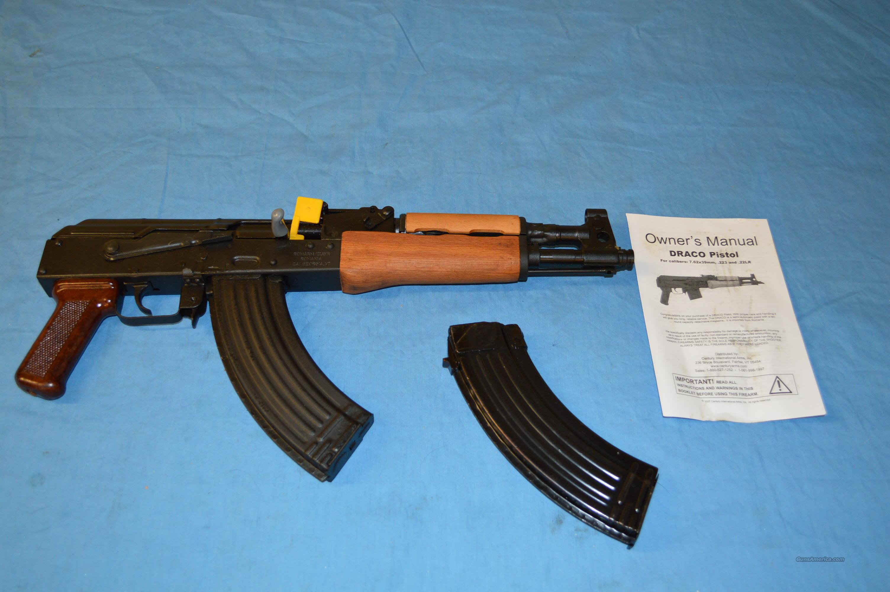 AK-47 DRACO PISTOL  Guns > Rifles > AK-47 Rifles (and copies) > Folding Stock