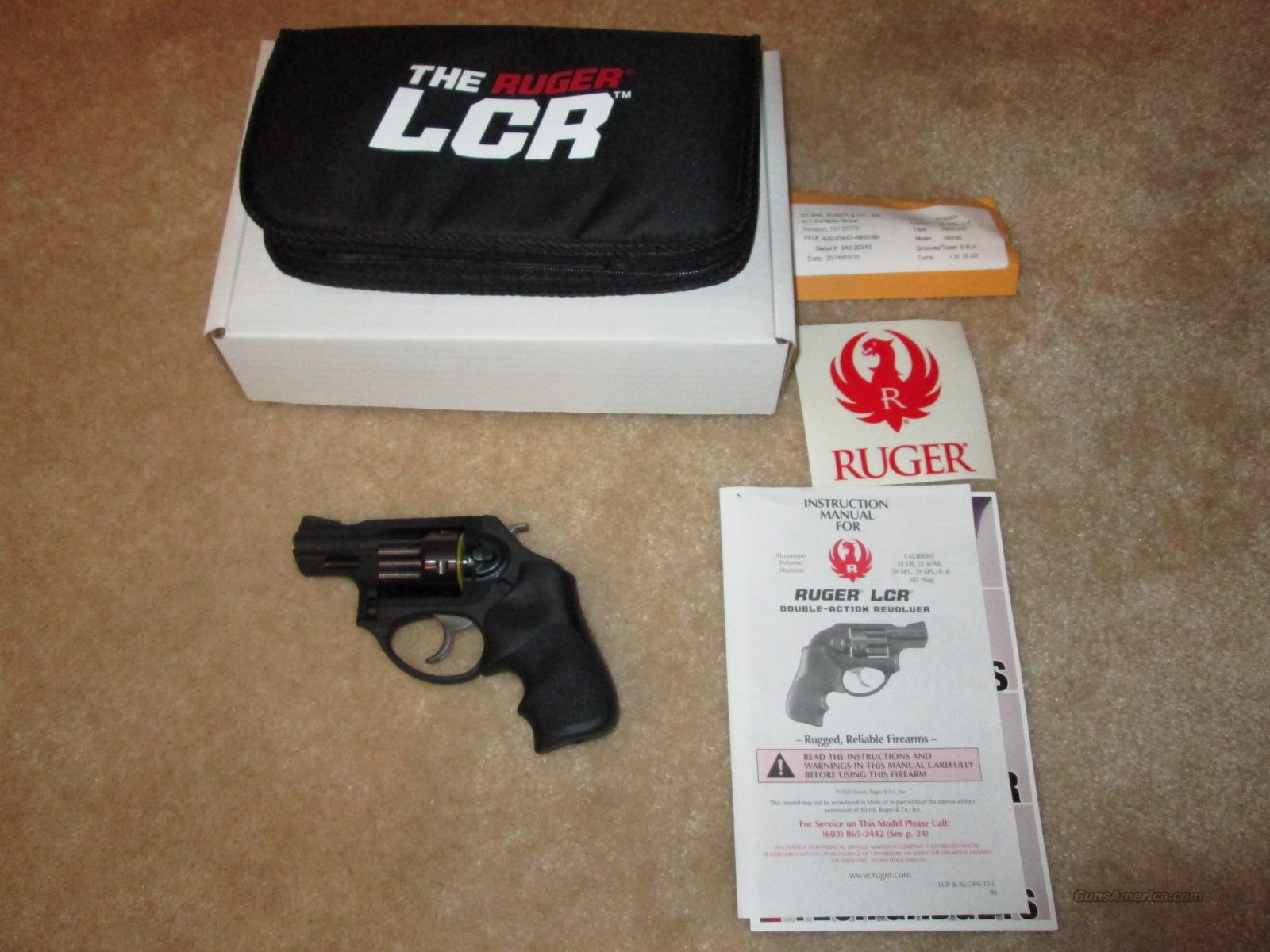 Ruger LCRx 38 SPL  Guns > Pistols > Ruger Double Action Revolver > LCR