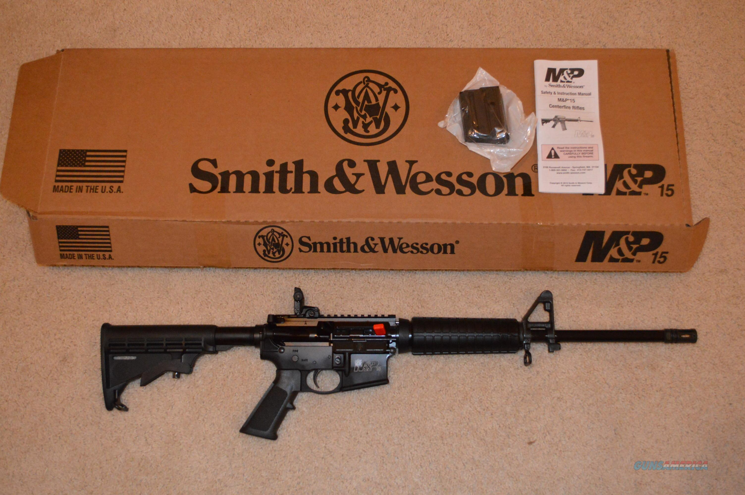 Smith and Wesson M&P Sport II California Compliant  Guns > Rifles > Smith & Wesson Rifles > M&P