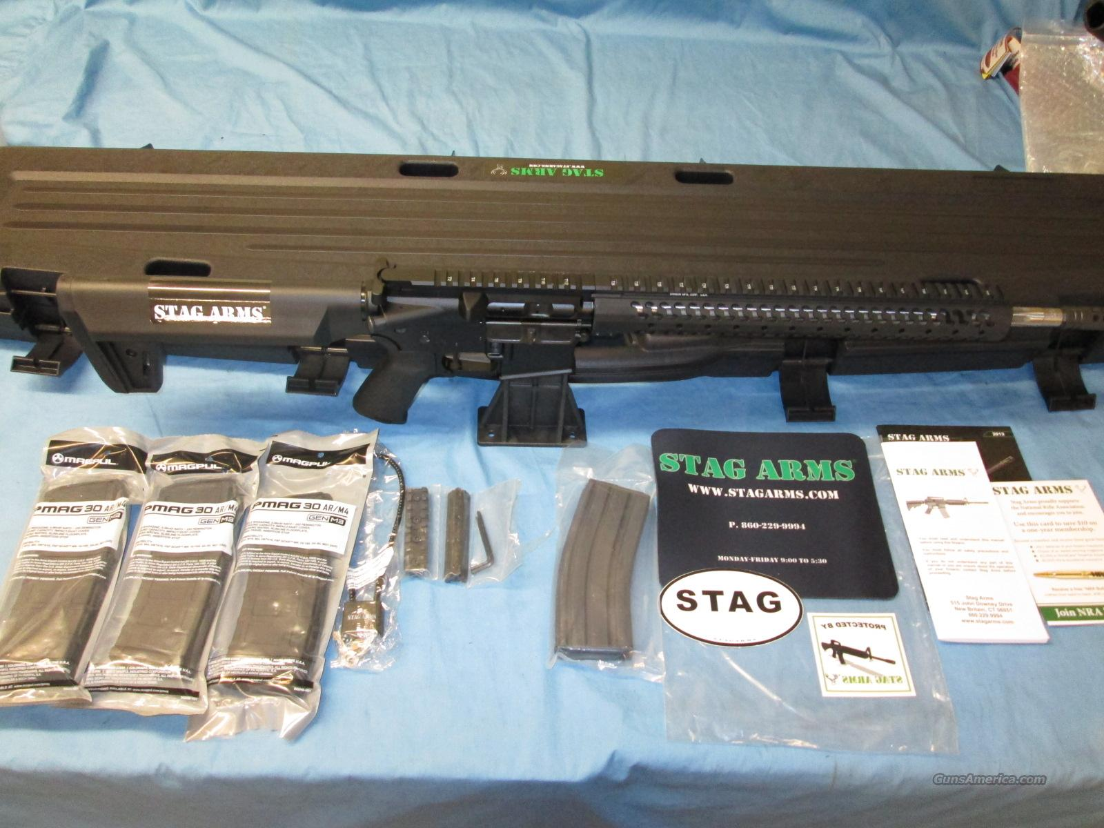 ON SALE! STAG SA3G COMPETITION RIFLE M3G  Guns > Rifles > Stag Arms > Complete Rifles