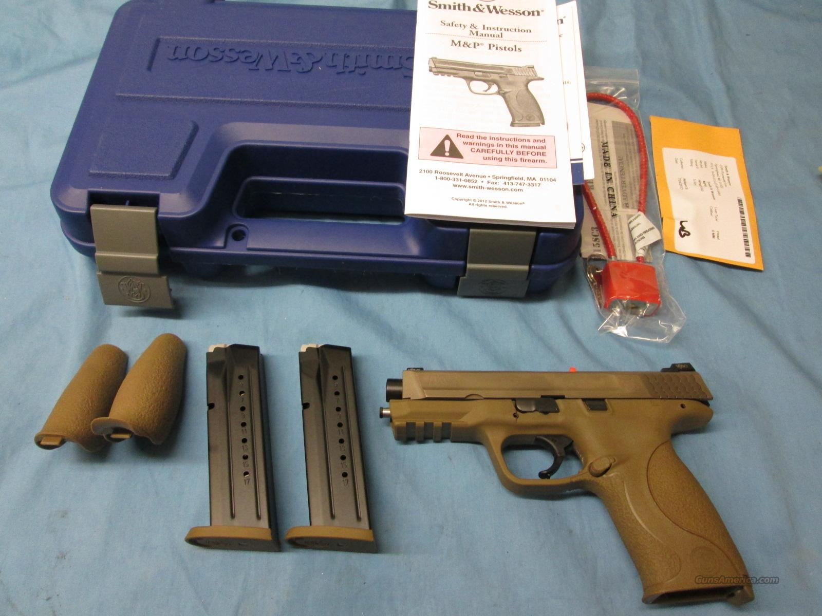 ON SALE! Smith & Wesson M&P VTAC 9mm FDE  Guns > Pistols > Smith & Wesson Pistols - Autos > Polymer Frame