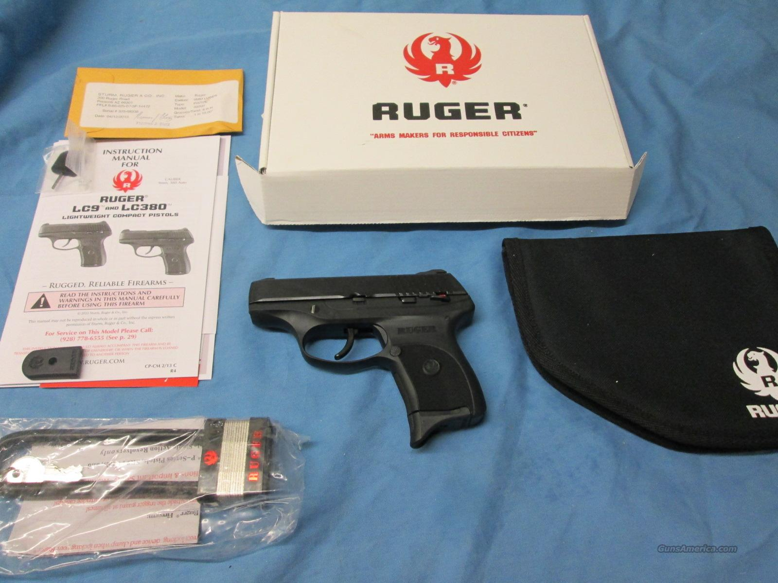 ON SALE! RUGER LC9 LC-9  Guns > Pistols > Ruger Semi-Auto Pistols > LC9