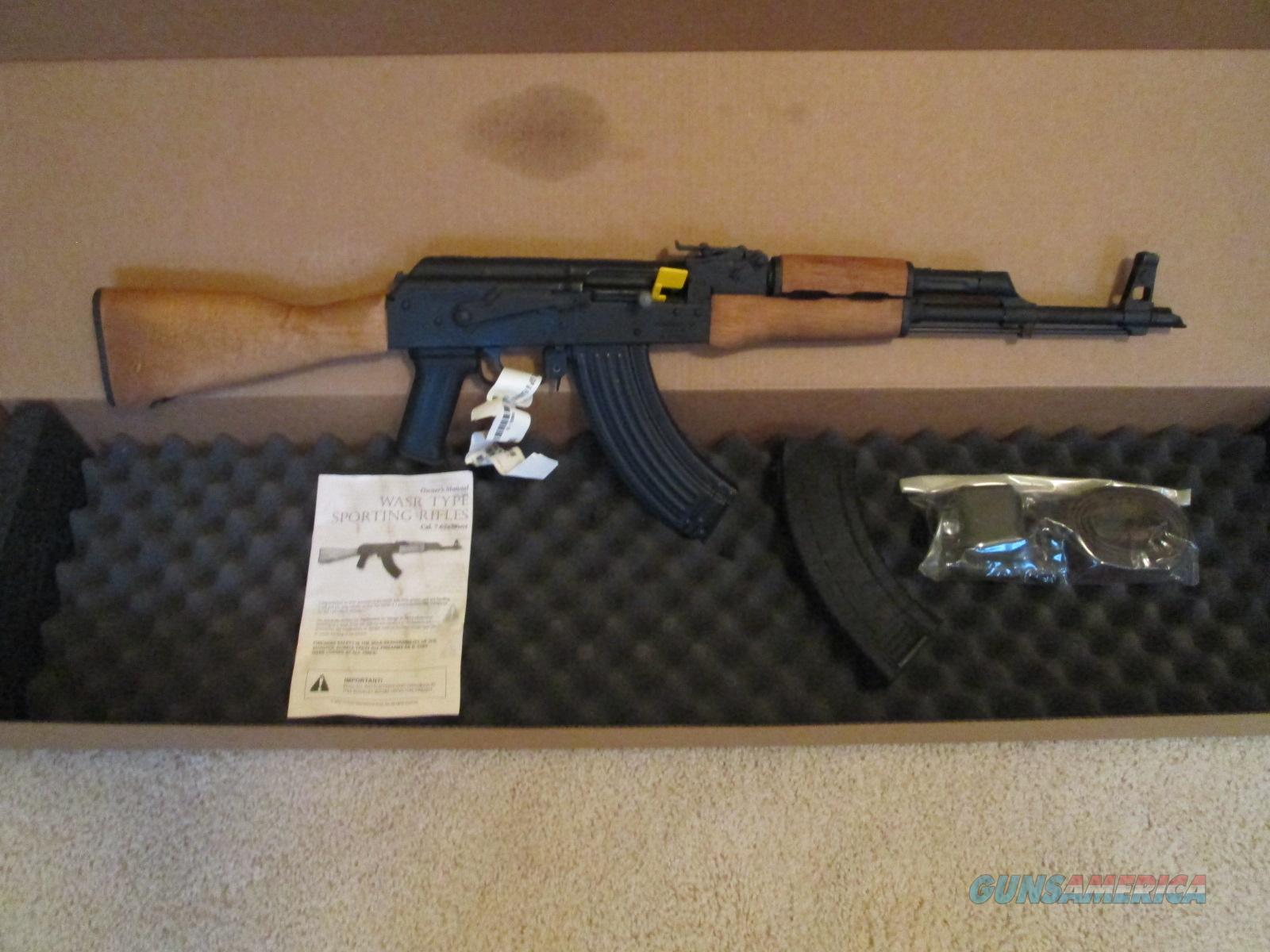 Clearance! WASR 10 Military AK-47  Guns > Rifles > AK-47 Rifles (and copies) > Full Stock