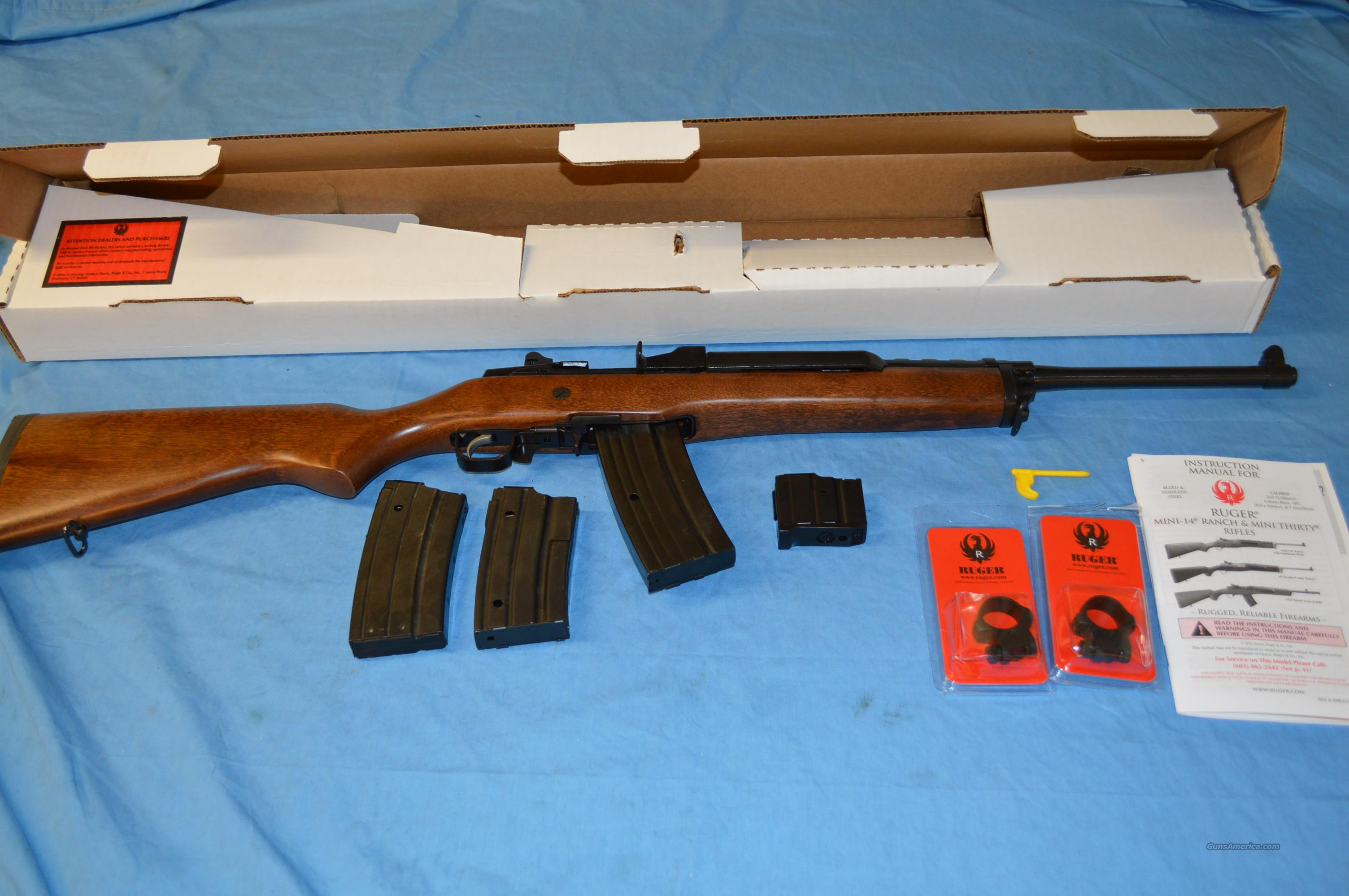 HI CAP RUGER MINI 14  Guns > Rifles > Ruger Rifles > Mini-14 Type