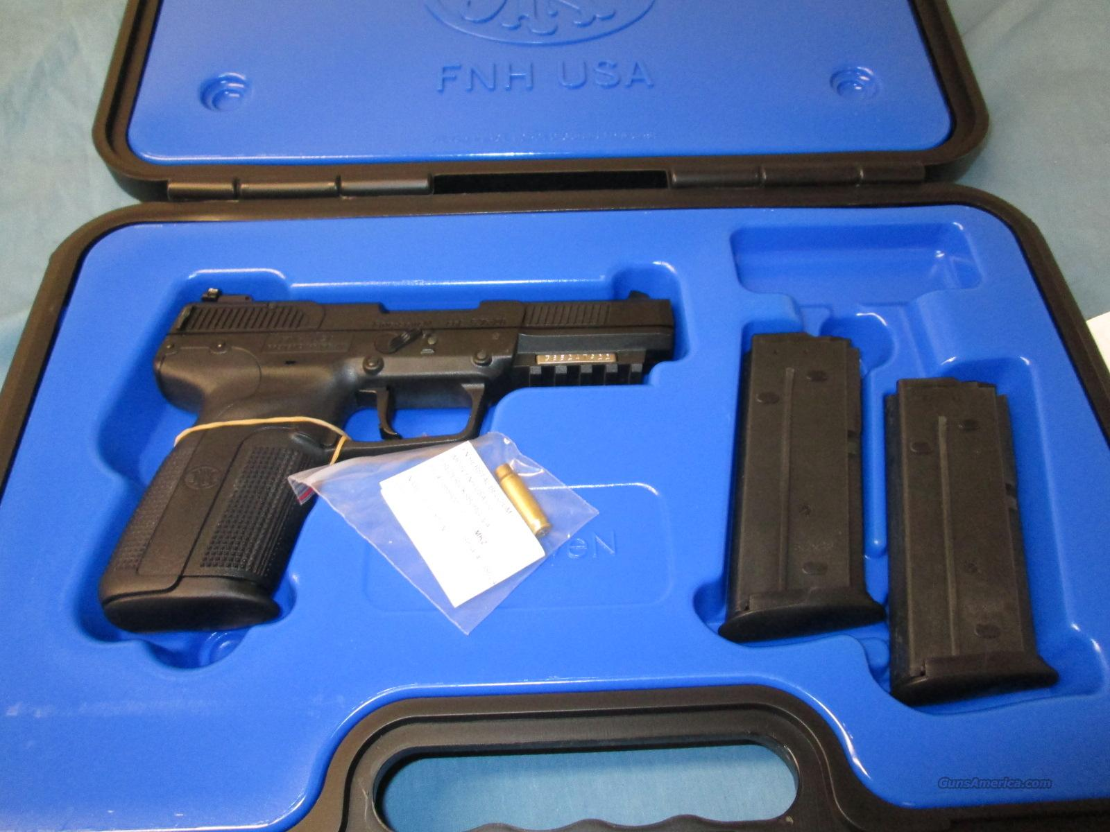FN FIVE SEVEN MKII Adjustable Sights 5.7x28  Guns > Pistols > FNH - Fabrique Nationale (FN) Pistols > FiveSeven