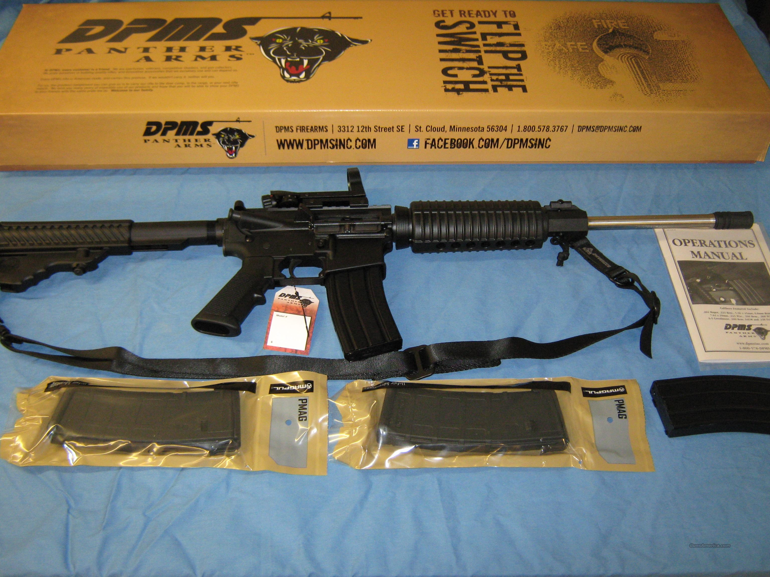 DPMS Oracle Stainless Package Deal !!  Guns > Rifles > DPMS - Panther Arms > Complete Rifle