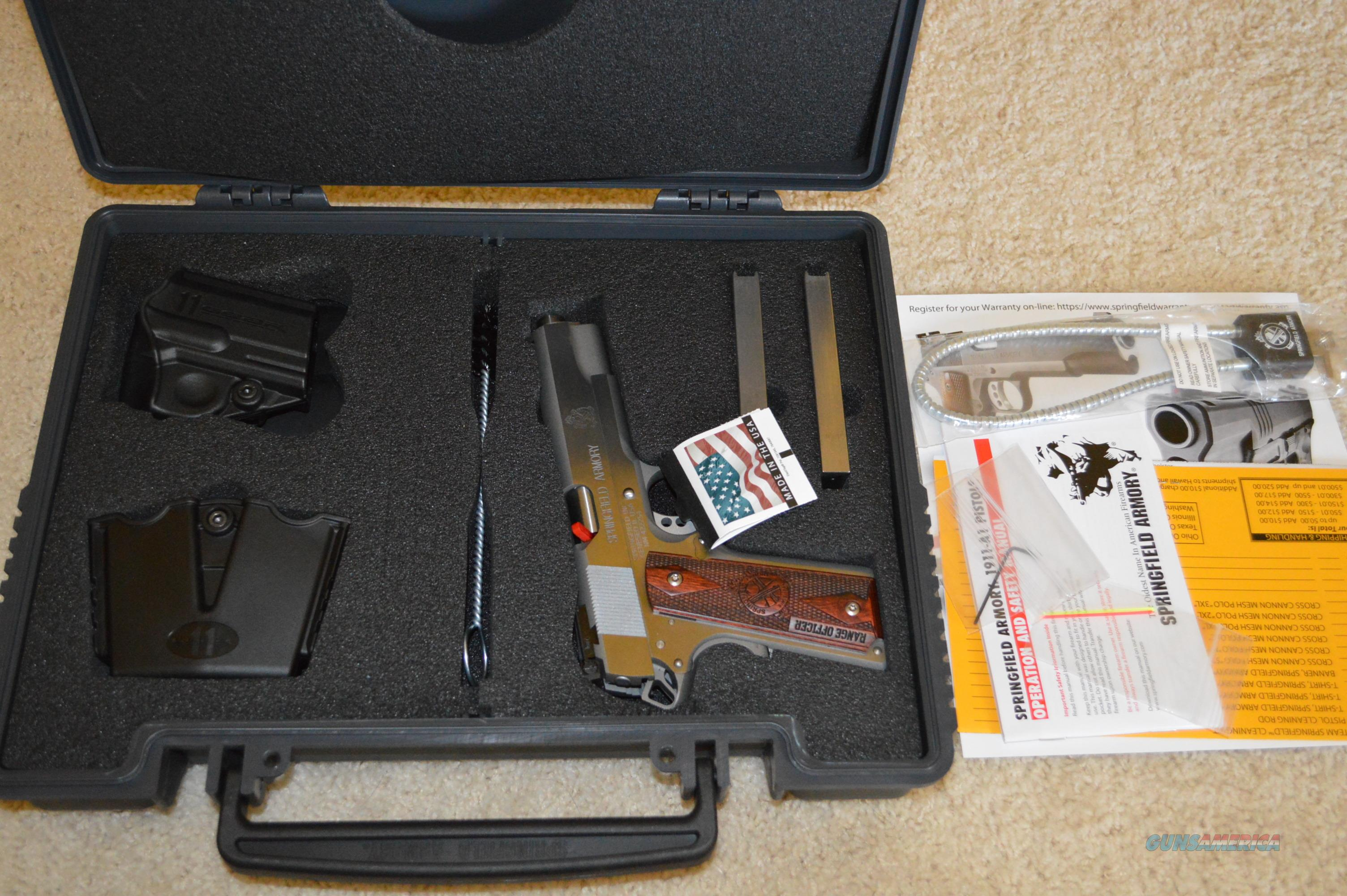 "Springfield Range Officer Stainless 45acp 5""  Guns > Pistols > Springfield Armory Pistols > 1911 Type"