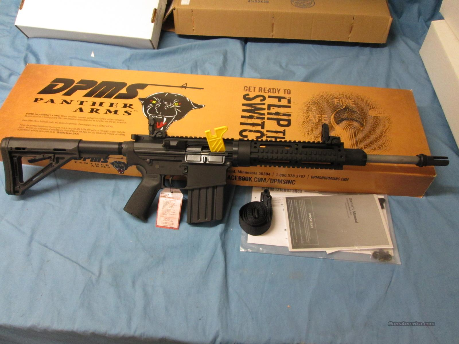 Clearance Sale! DPMS RECON 308 7.62x51 + Extras!  Guns > Rifles > DPMS - Panther Arms > Complete Rifle