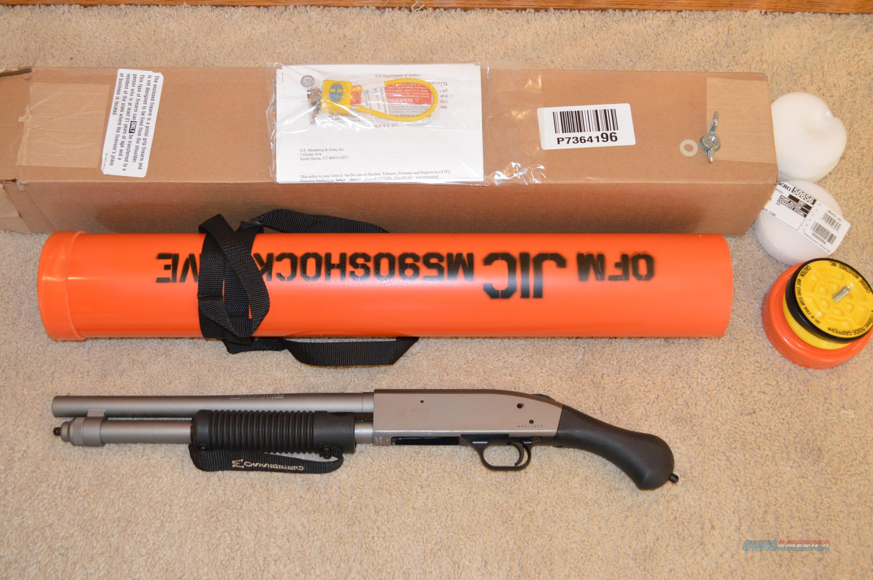 Clearance Sale! Mossberg 590 Shockwave JIC  Guns > Shotguns > Mossberg Shotguns > Pump > Tactical