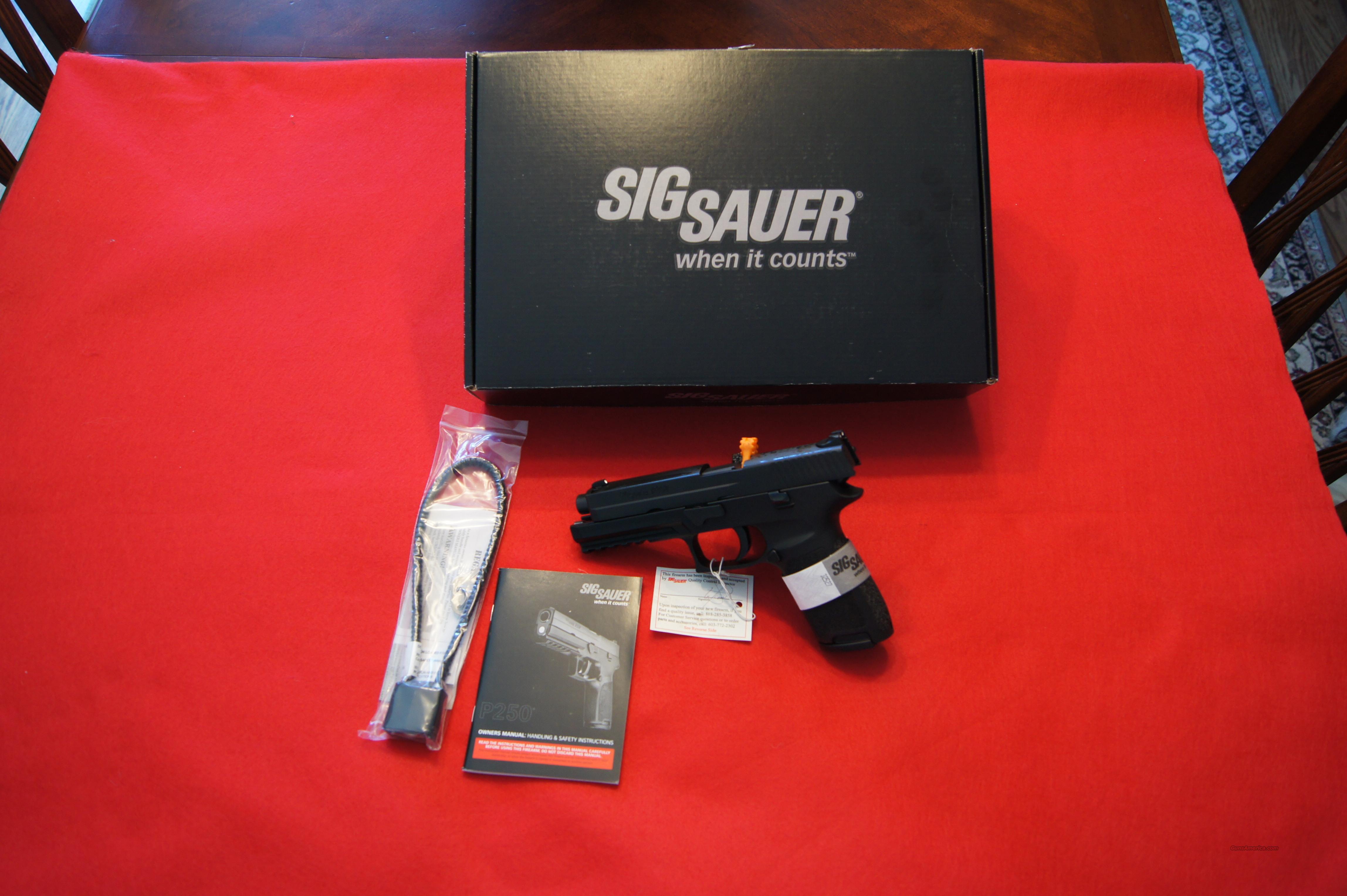 Sig Sauer P20 40 Caliber For Sale