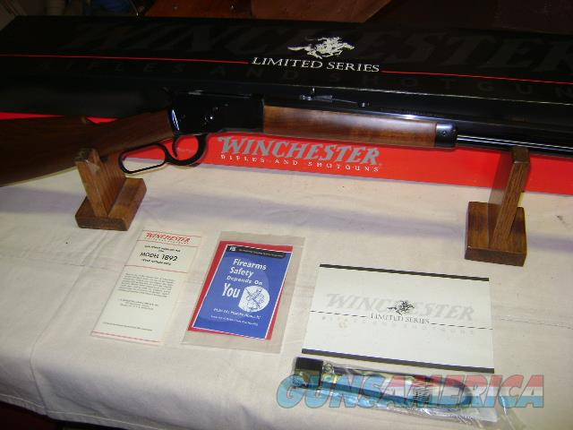 Winchester 1892 Limited Series 1 of 500 44 Rem Mag NIB  Guns > Rifles > Winchester Rifles - Modern Lever > Other Lever > Post-64