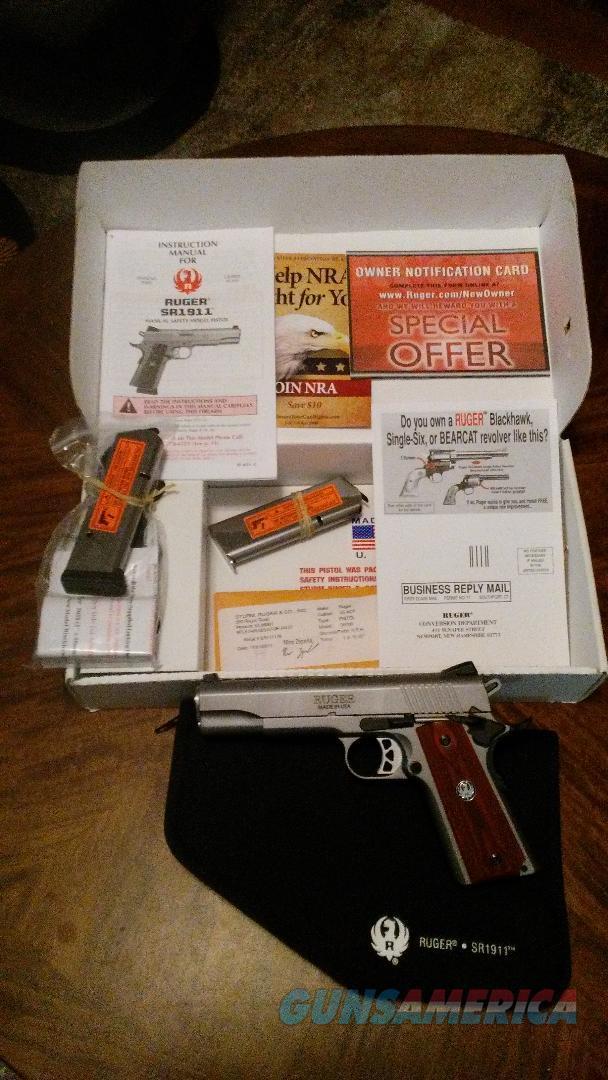 RUGER SR 1911  Guns > Pistols > Ruger Semi-Auto Pistols > SR Family > SR45