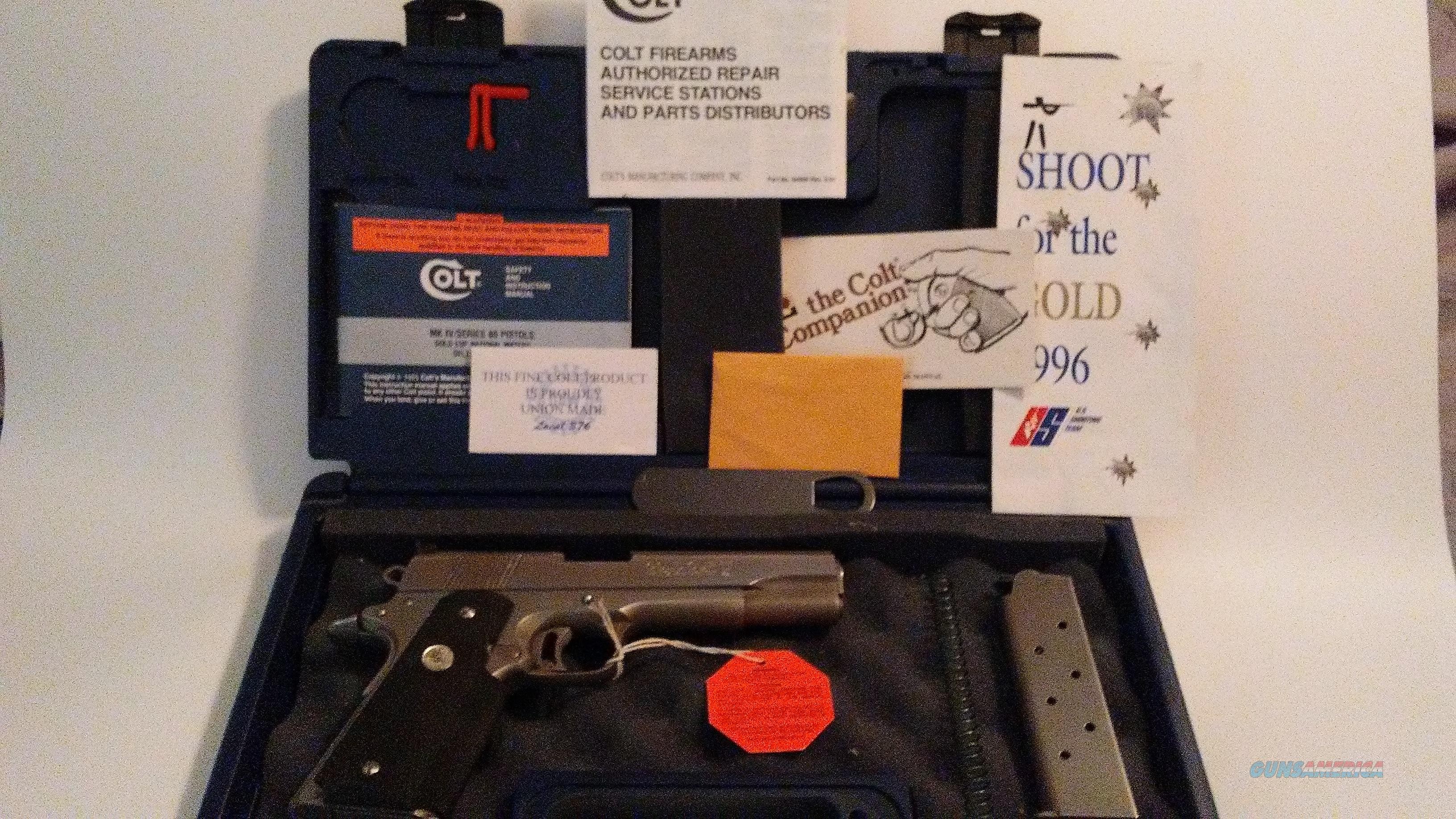 COLT GOLD CUP NATIONAL MATCH SERIES 80 45 ACP, STAINLESS STEEL  Guns > Pistols > Colt Automatic Pistols (1911 & Var)