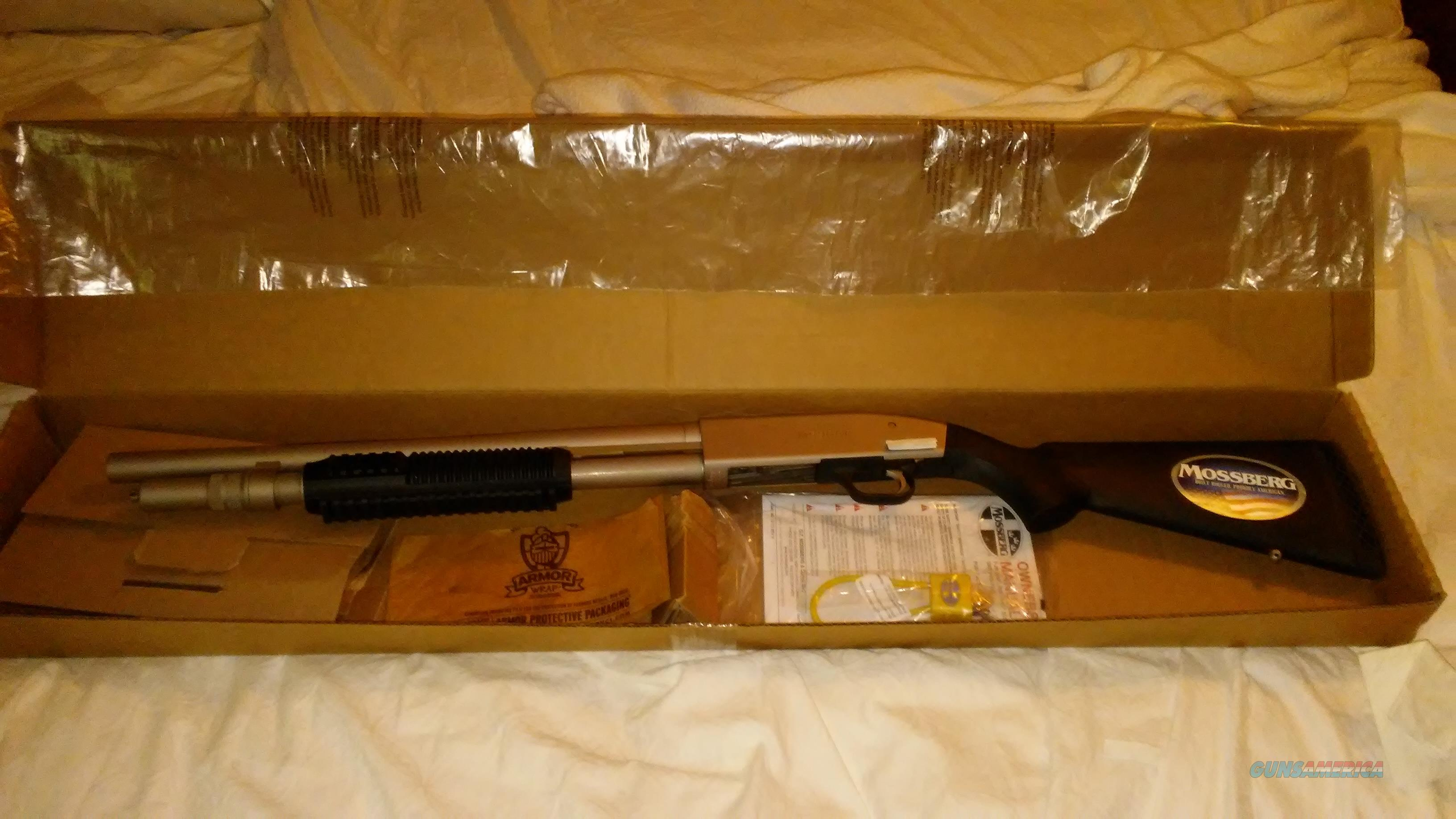 MOSSBERG 590A1 MARINER, MARINECOAT 12GA   Guns > Shotguns > Mossberg Shotguns > Pump > Tactical