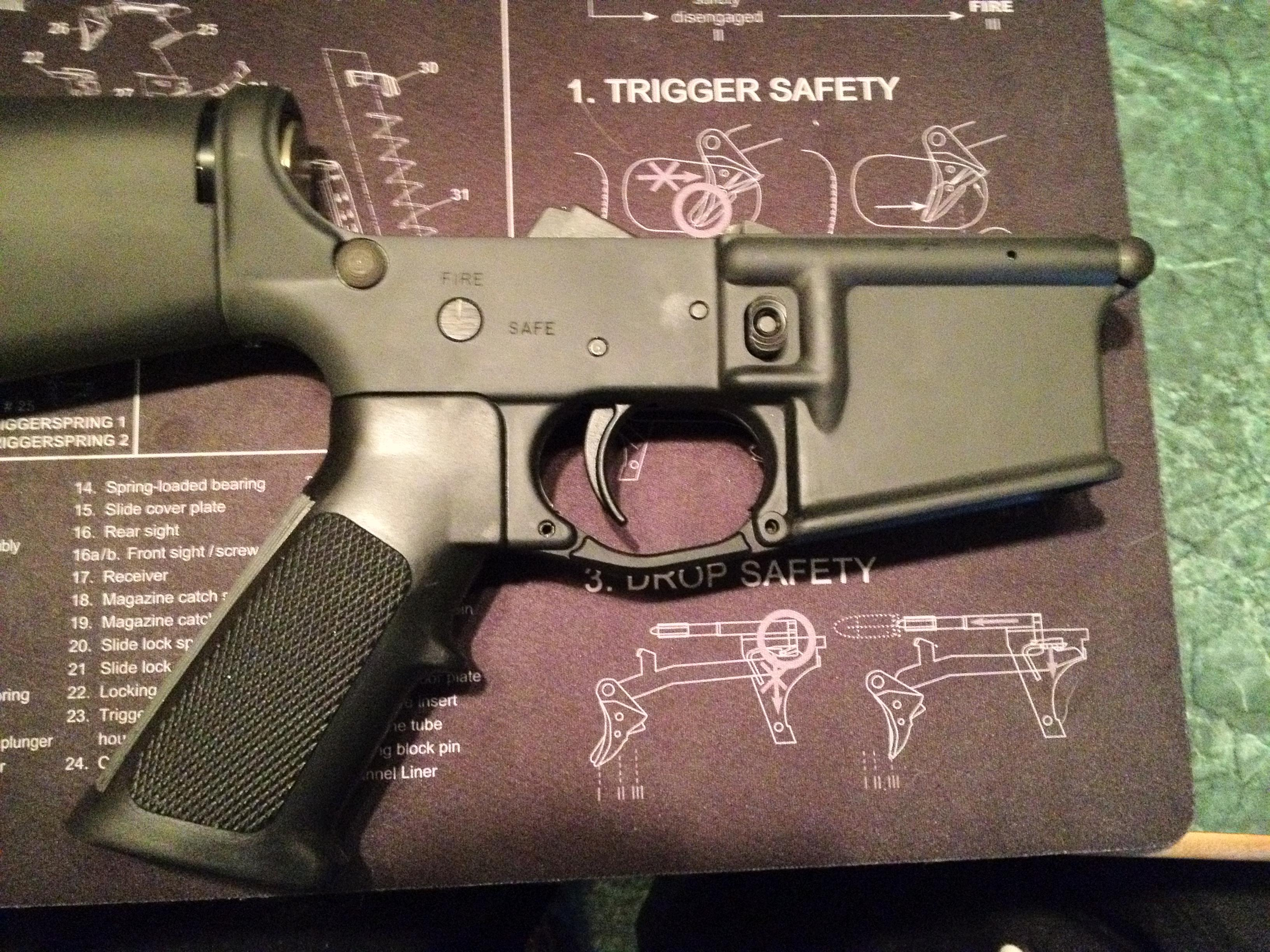 pre ban eagle arms lower preban   Guns > Rifles > AR-15 Rifles - Small Manufacturers > Lower Only