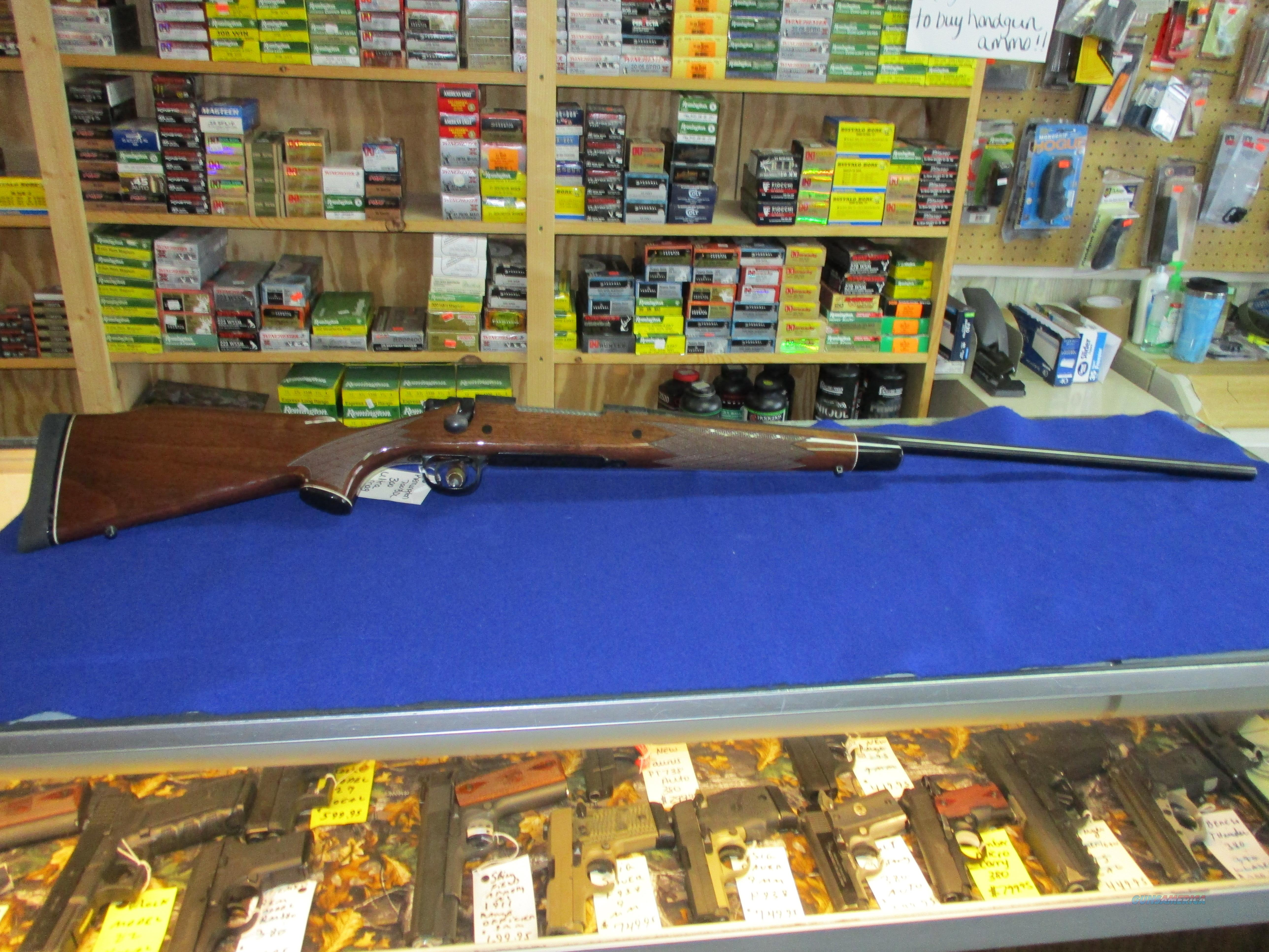 REMINGTON 700 BDL 300 ULTRA MAG  Guns > Rifles > Remington Rifles - Modern > Model 700 > Sporting