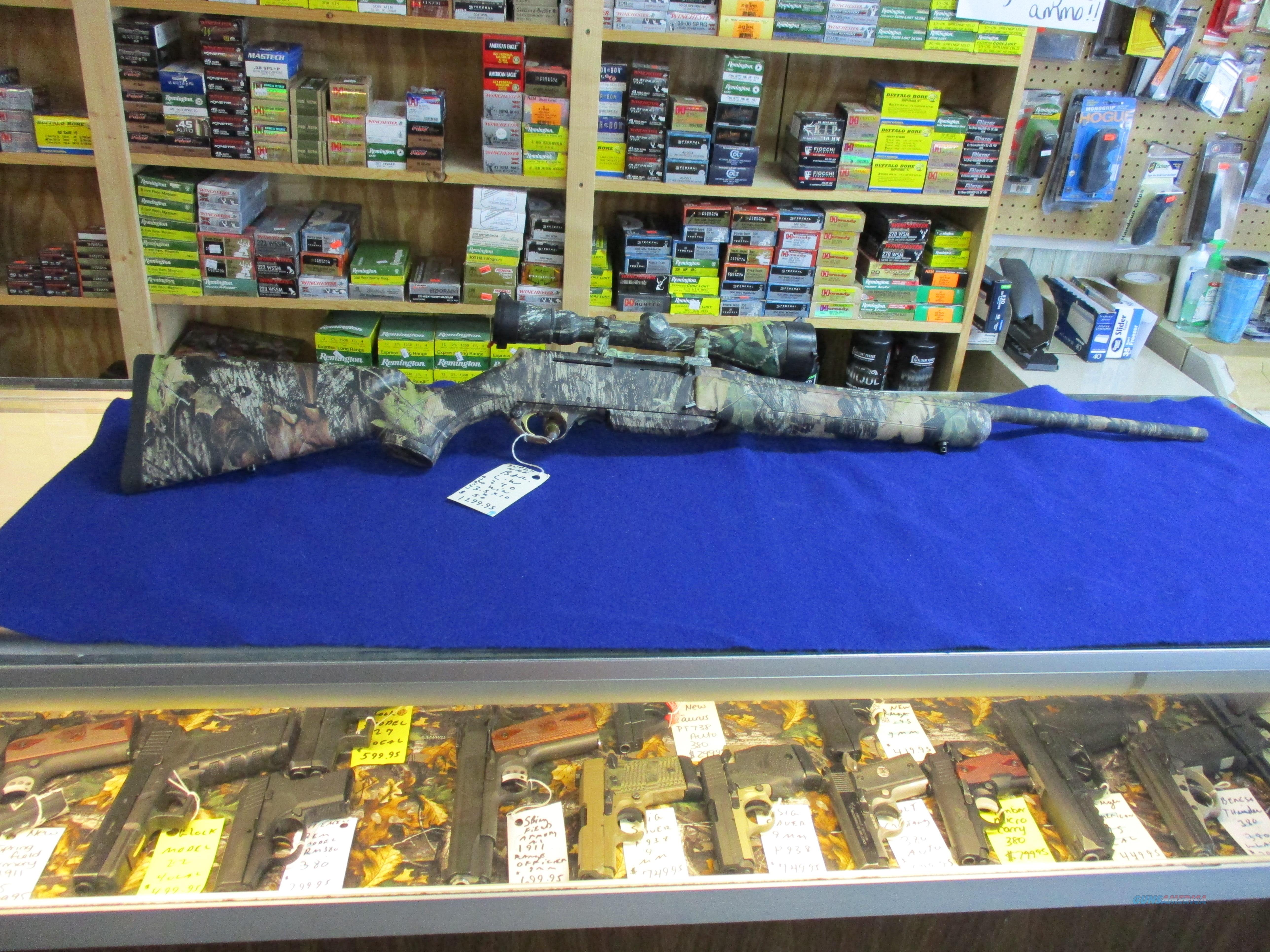 BROWNING BAR LW 270 WIN 3.5X10X50 VX3 LEUPOLD  Guns > Rifles > Browning Rifles > Semi Auto > Hunting