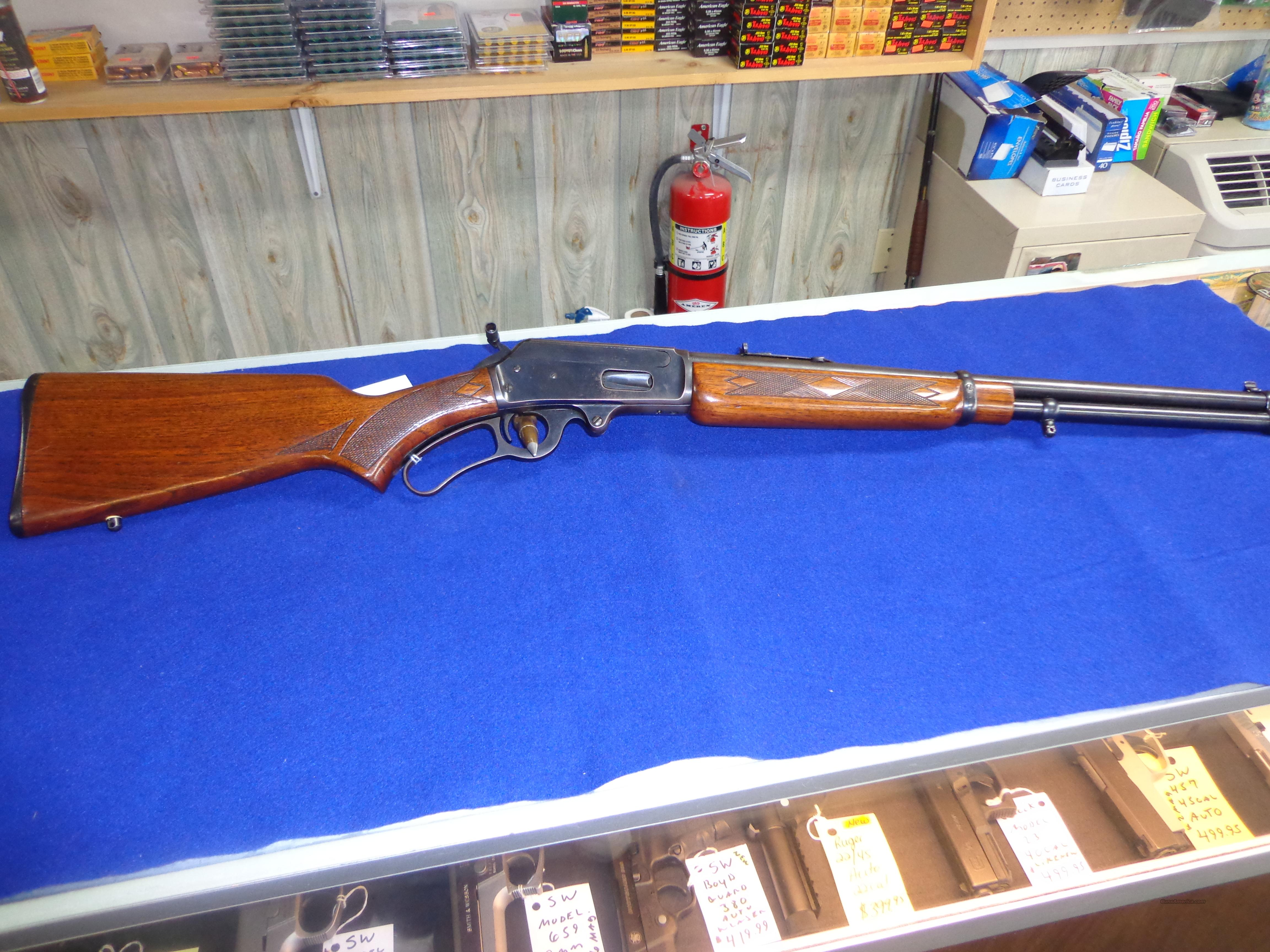 MARLIN MODEL 36RC DELUXE 30.30 CARBINE  Guns > Rifles > Marlin Rifles > Modern > Lever Action