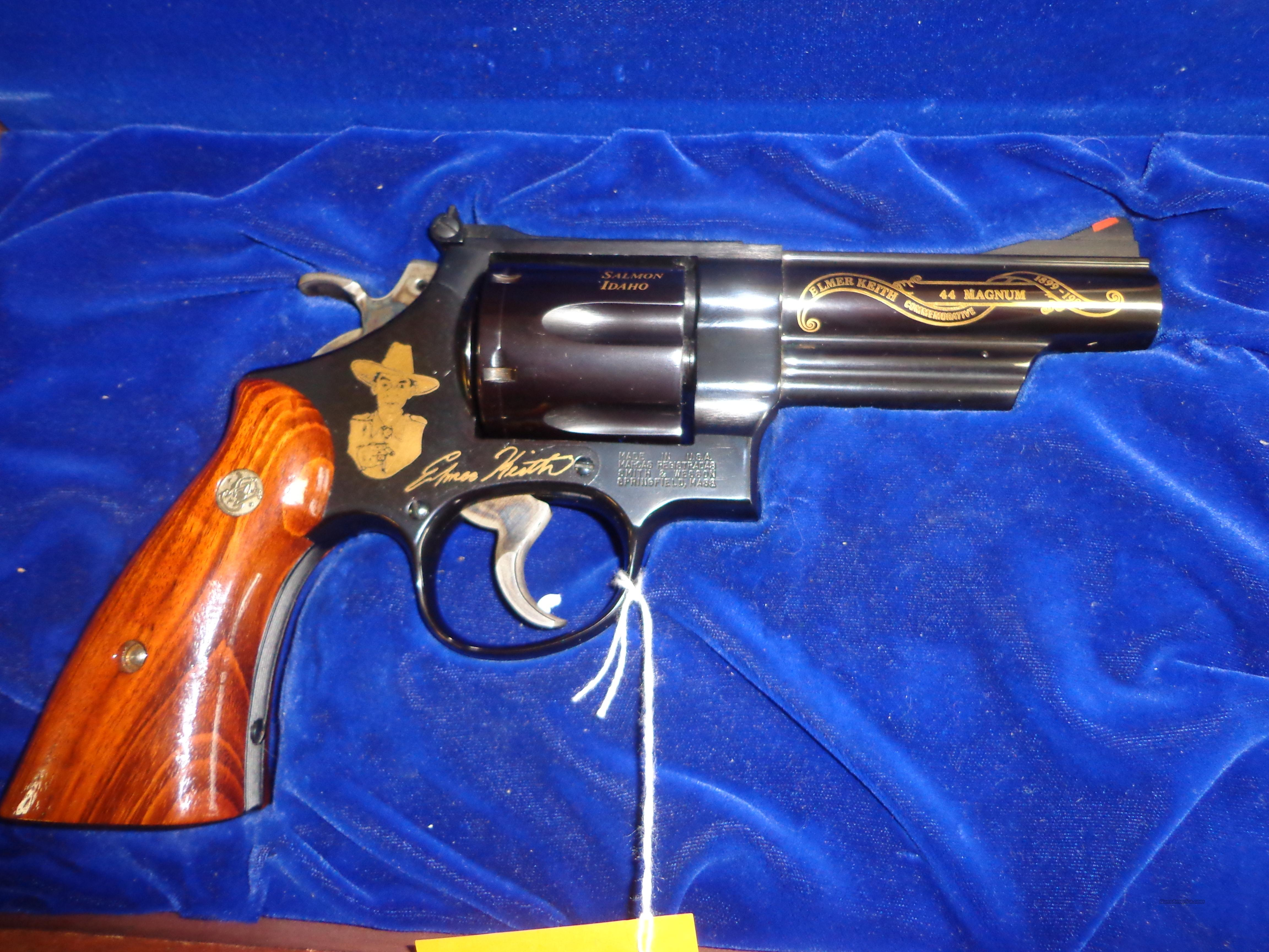 ELMER KEITH S&W MODEL 29 REV 44 MAG  Guns > Pistols > E Misc Pistols