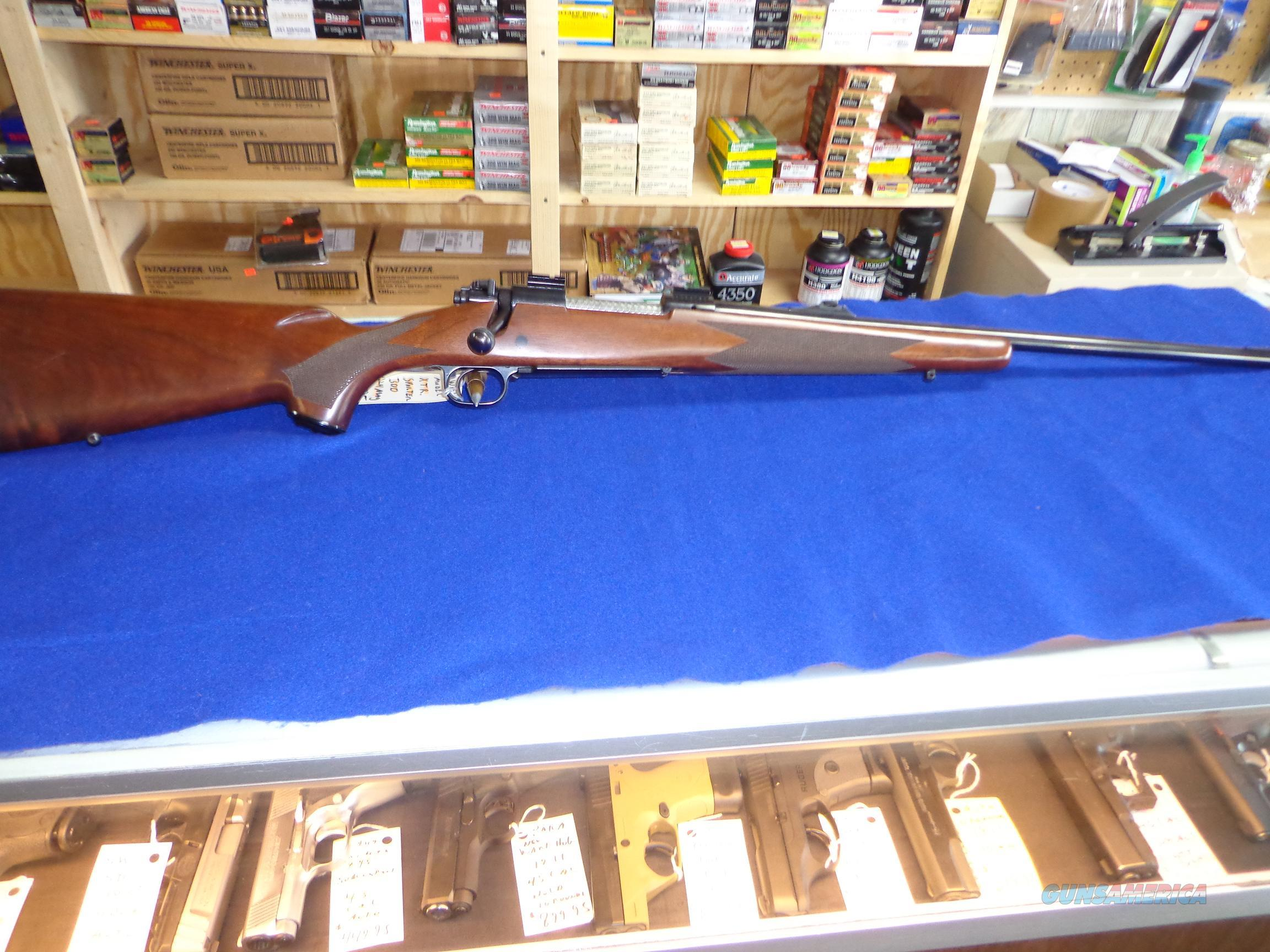 WINCHESTER MODEL XTR 300 SPORTER H&H MAG  Guns > Rifles > Winchester Rifles - Modern Bolt/Auto/Single > Other Bolt Action
