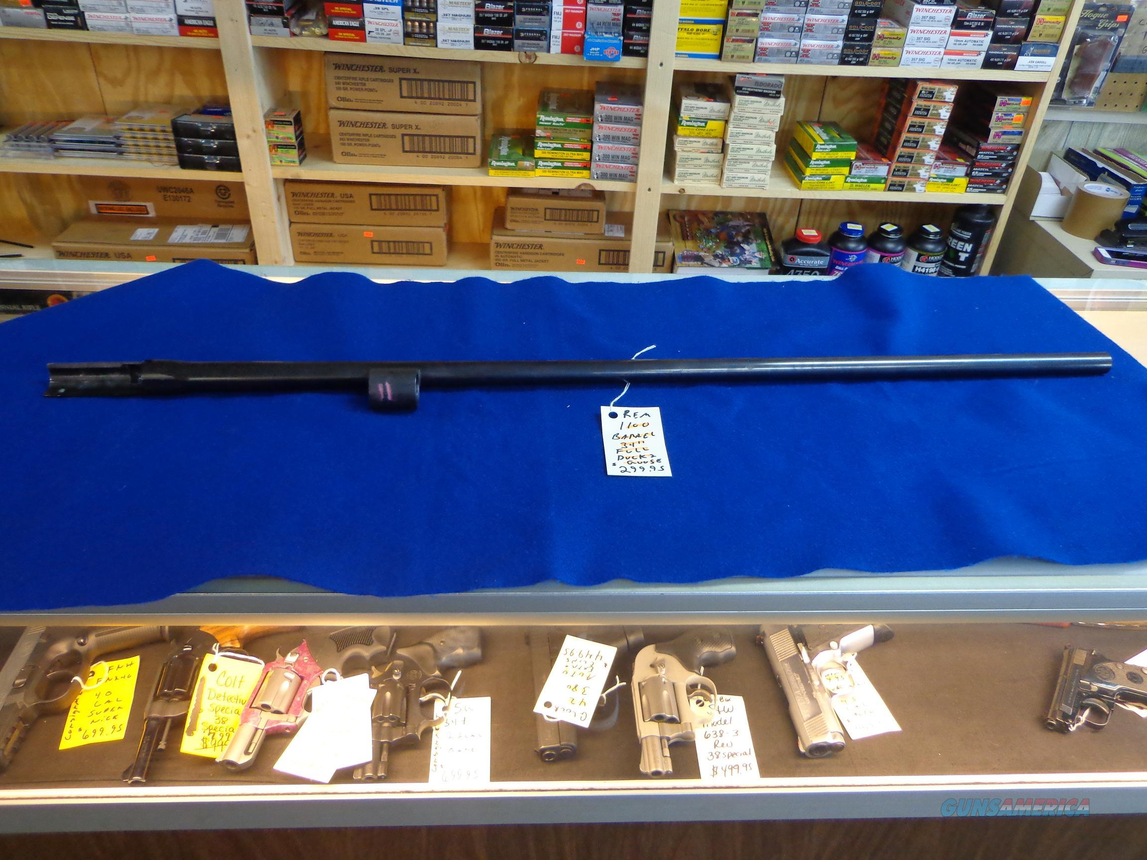 "REMINGTON 1100 BARREL 34"" FULL CHOKE DUCK AND GOOSE 12 GA 2 3/4 SHELLS   Non-Guns > Barrels"
