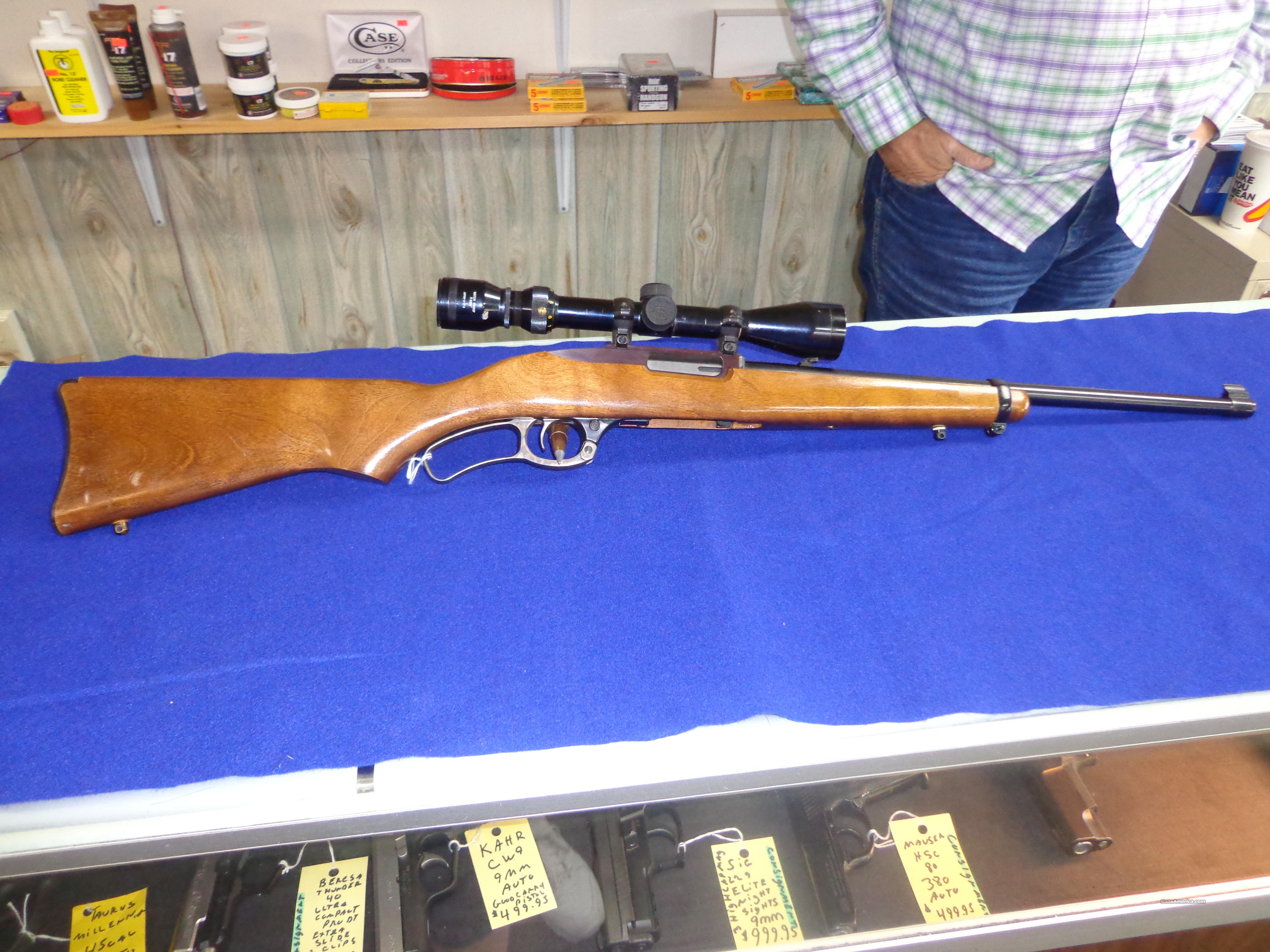RUGER MODEL 96 44 MAG LEVER  Guns > Rifles > Ruger Rifles > Lever Action
