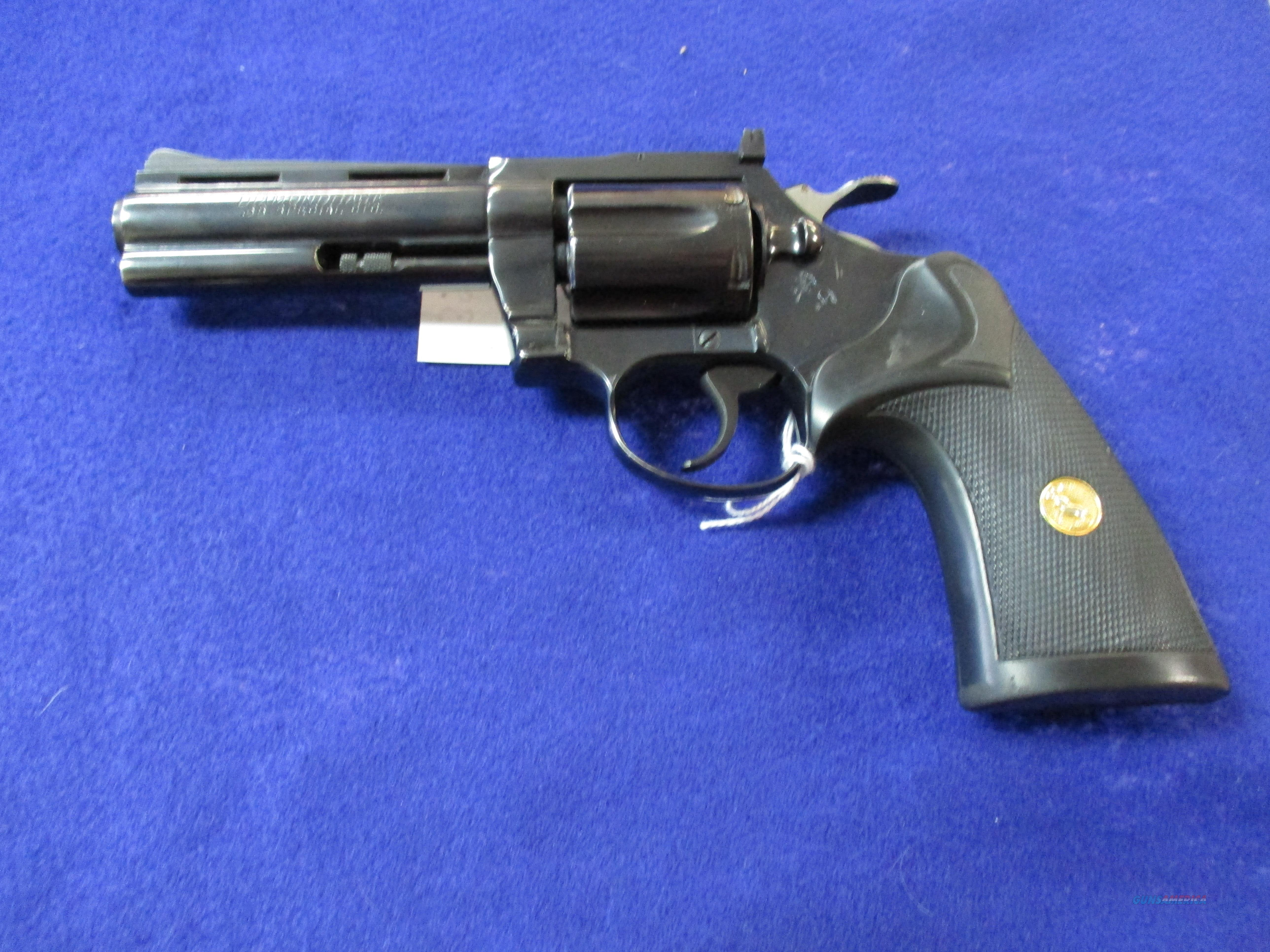 COLT DIAMOND BACK 38 SPECIAL  Guns > Pistols > Colt Double Action Revolvers- Modern