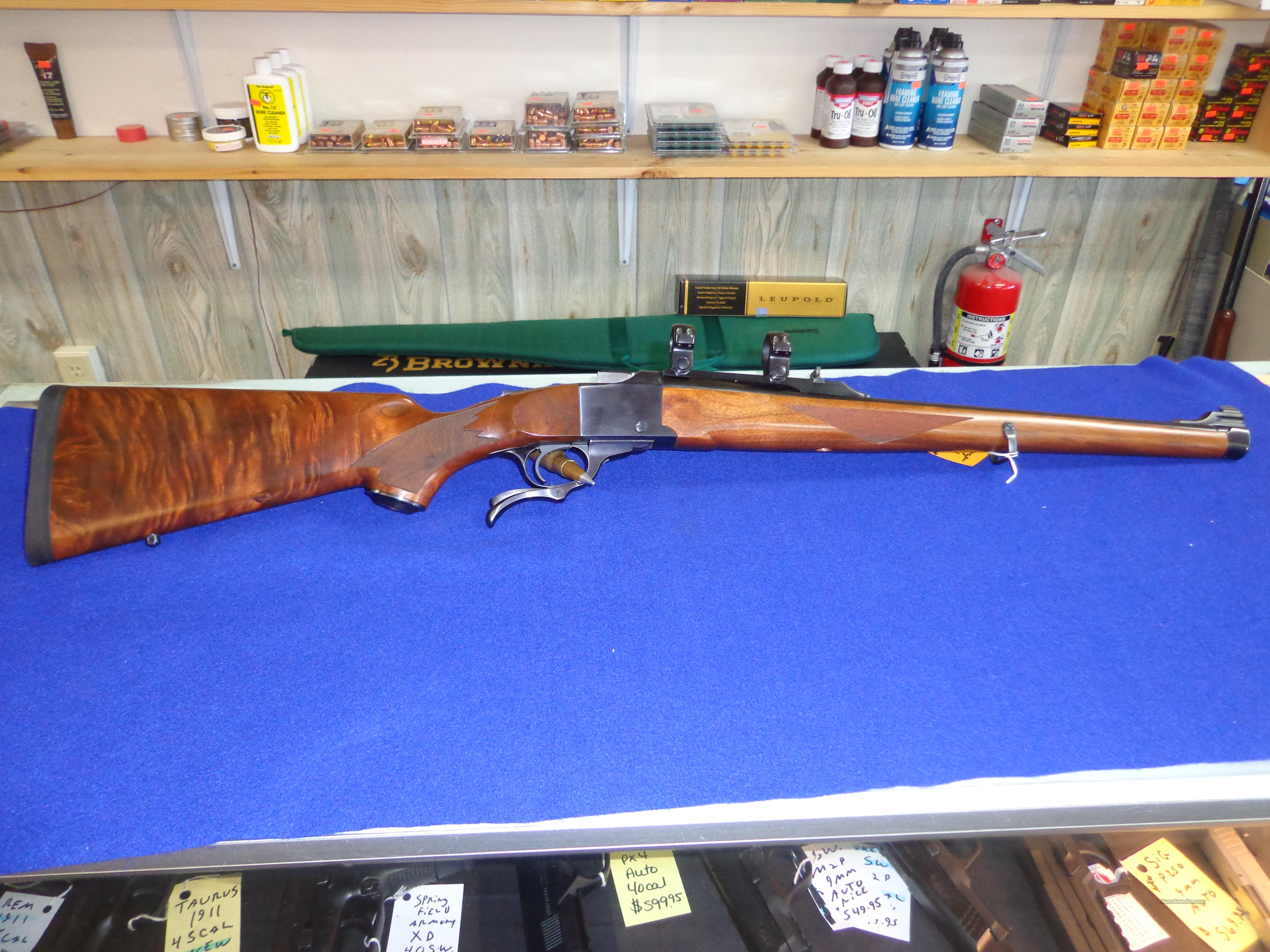 RUGER NO1 INTERNATIONAL 7X57 RARE  Guns > Rifles > Ruger Rifles > #1 Type