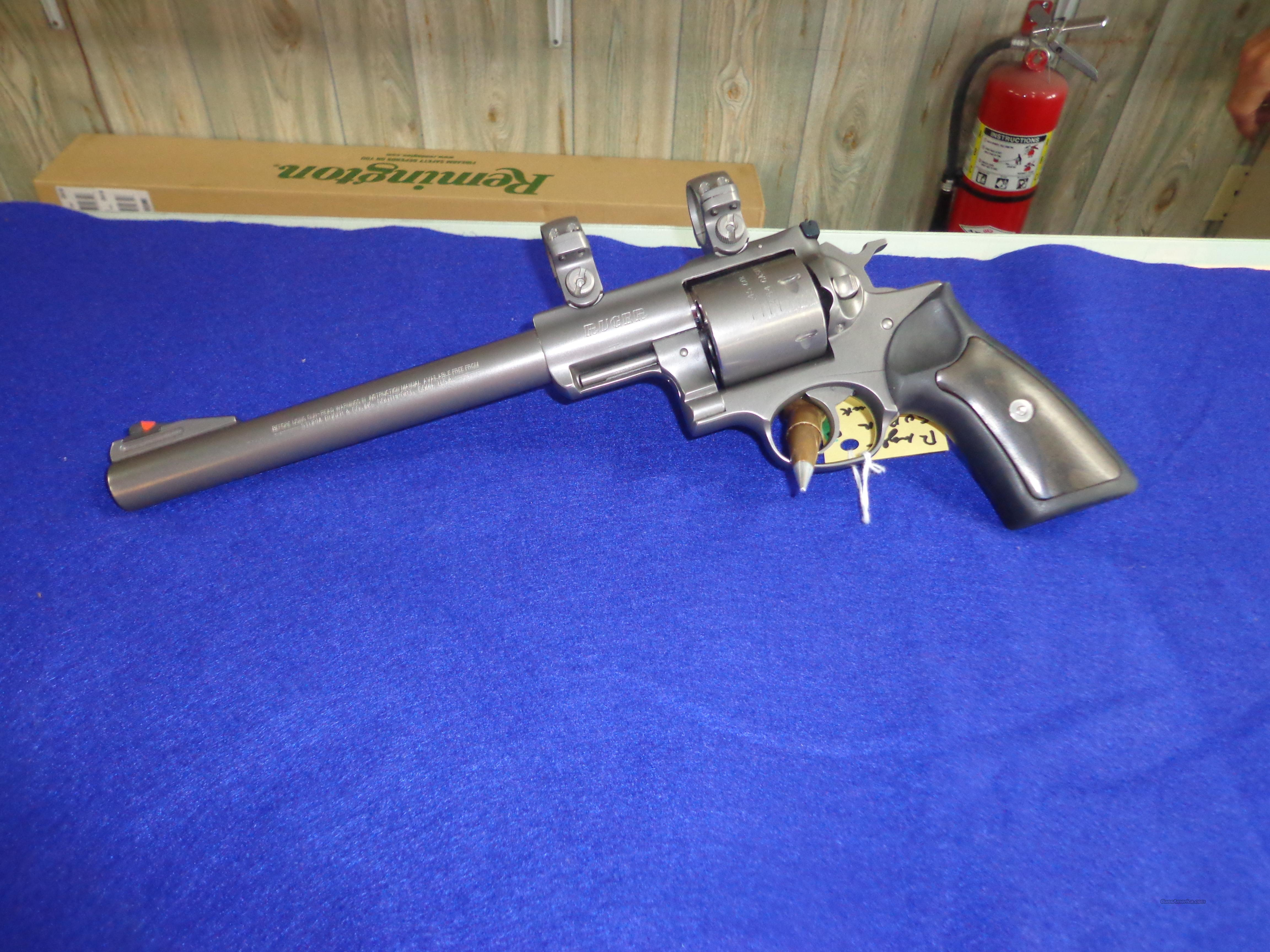 RUGER SUPER RED HAWK  454 CASULL OR 45 LC  Guns > Pistols > Ruger Double Action Revolver > Redhawk Type
