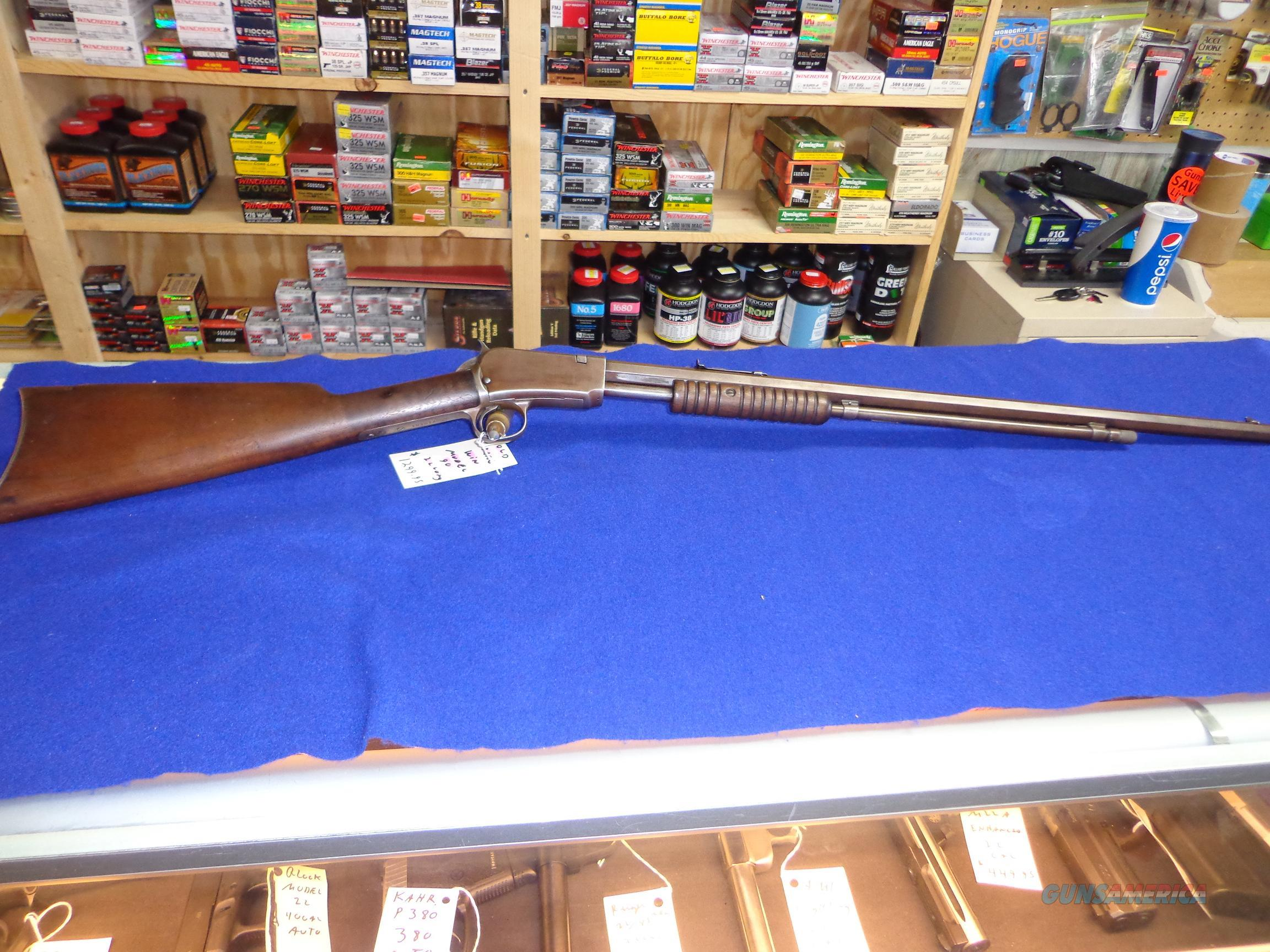 WINCHESTER MODEL 90 22 LONG  Guns > Rifles > Winchester Rifles - Modern Pump