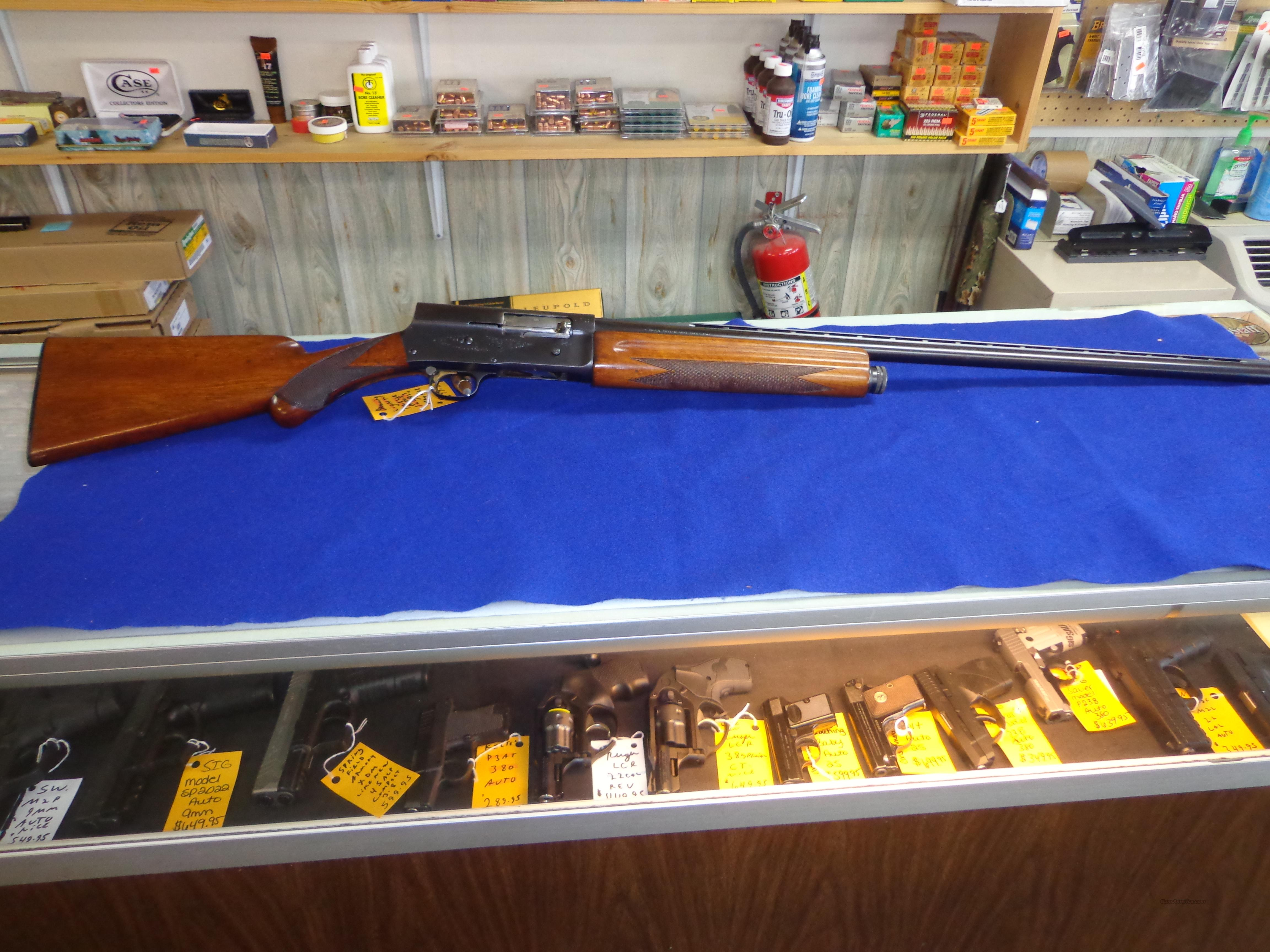 BROWNING LIGHT TWELVE 12 GA 30 IN BARREL  FULL CHOKE  Guns > Shotguns > Browning Shotguns > Autoloaders > Hunting