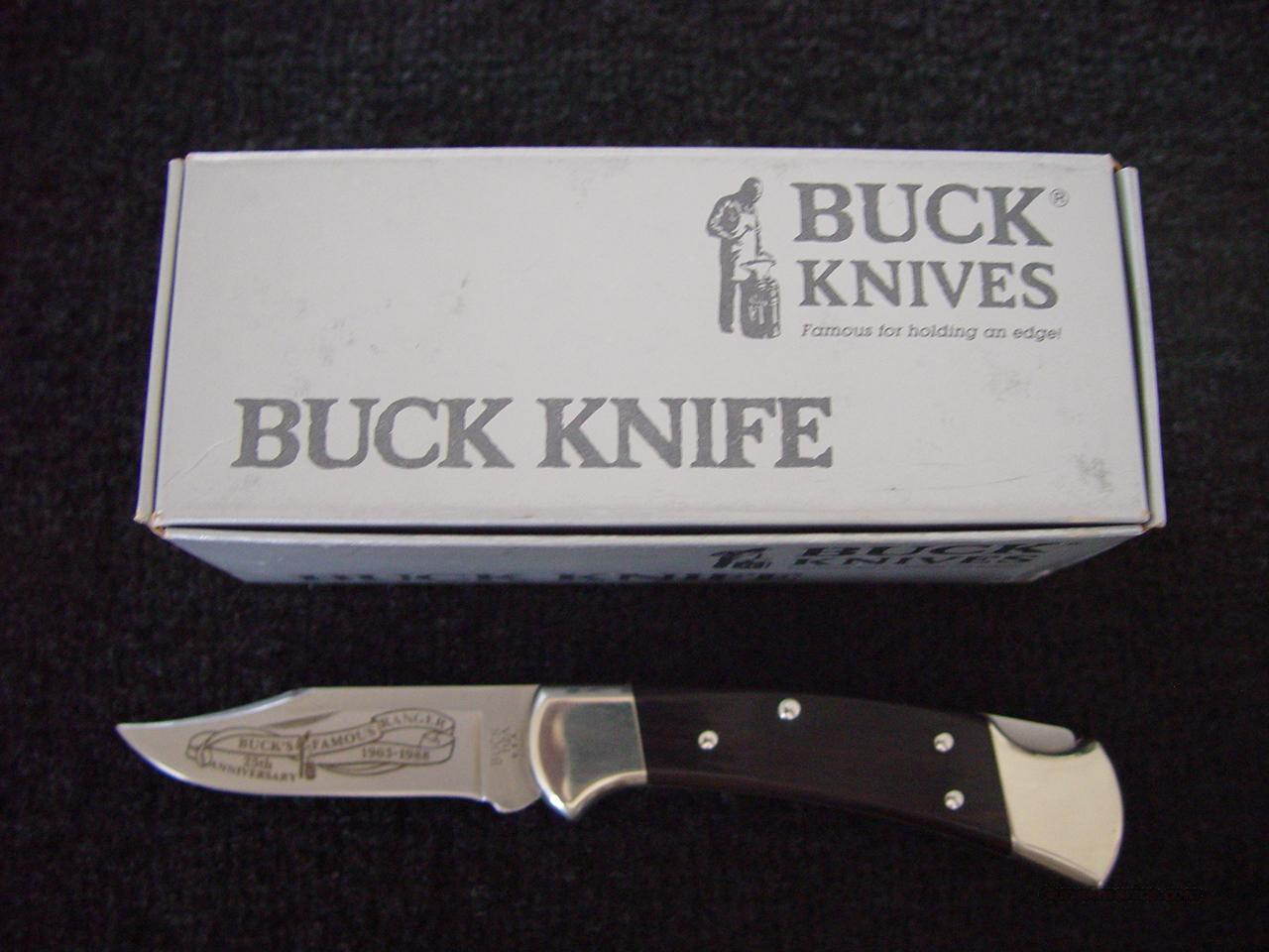 Buck 25th Anniversary Ranger Knife For Sale