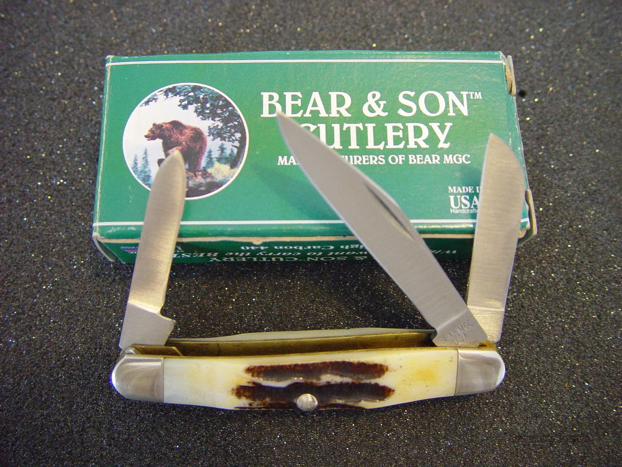 Bear and Son Knife #518 Stockman  Non-Guns > Knives/Swords > Knives > Folding Blade > Hand Made