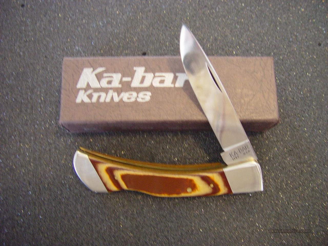 Ka - Bar Knife #1187  Non-Guns > Knives/Swords > Knives > Folding Blade > Hand Made