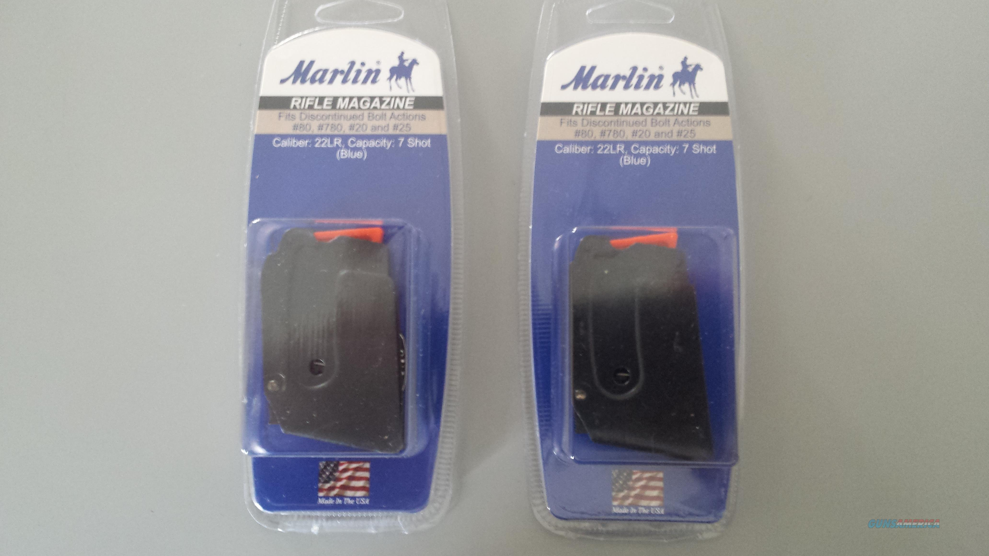 Marlin Rifle Magazine  ( 2 pcs )  Non-Guns > Magazines & Clips > Rifle Magazines > Other