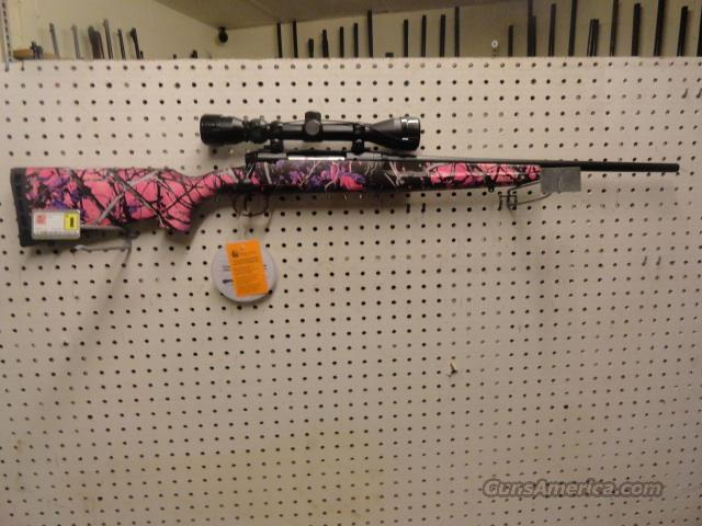 muddy girl pink 223  Guns > Rifles > Savage Rifles > Standard Bolt Action > Sporting