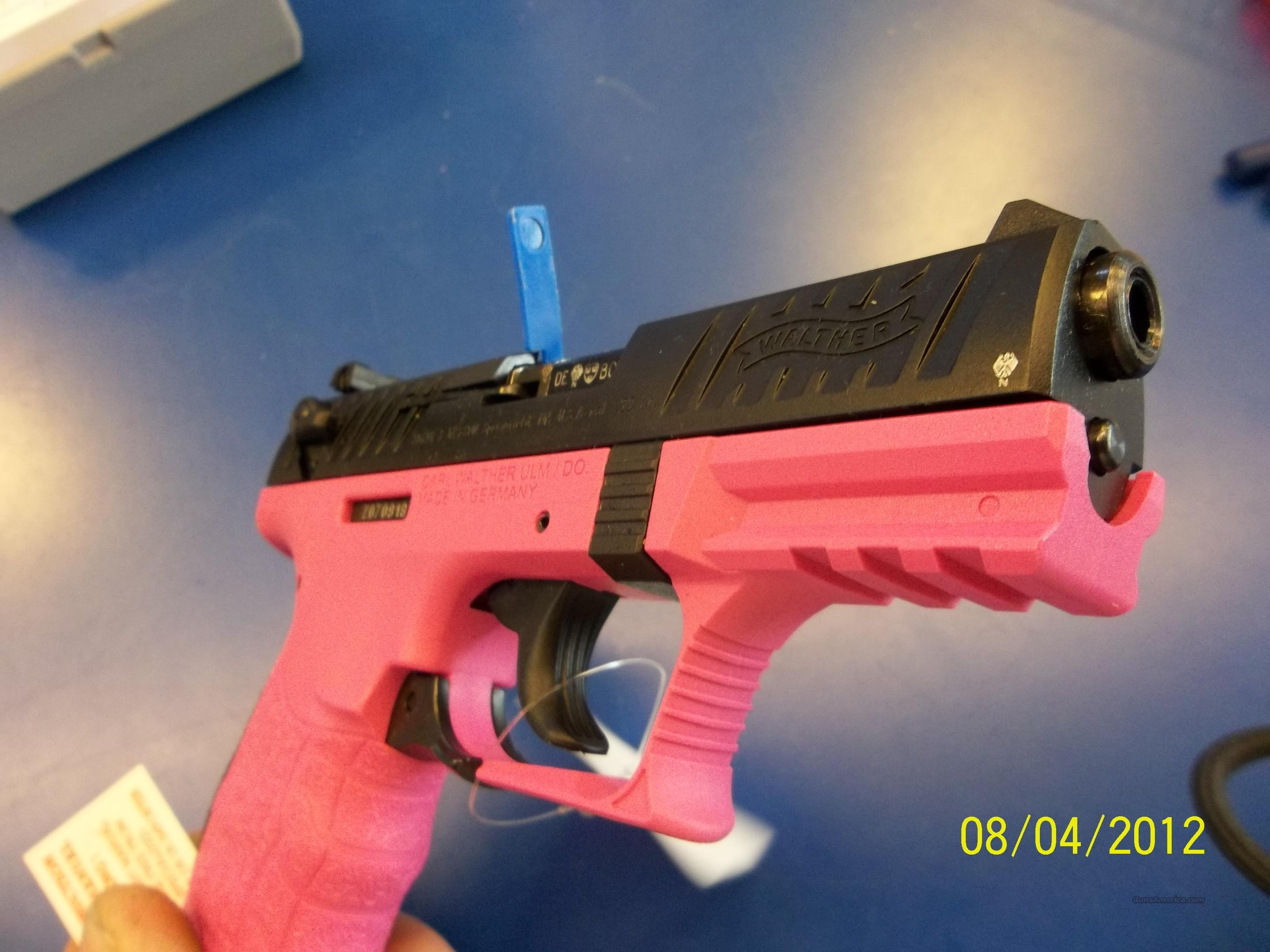 pink walther p22 new model for sale or trade  Guns > Pistols > Walther Pistols > Post WWII > P22