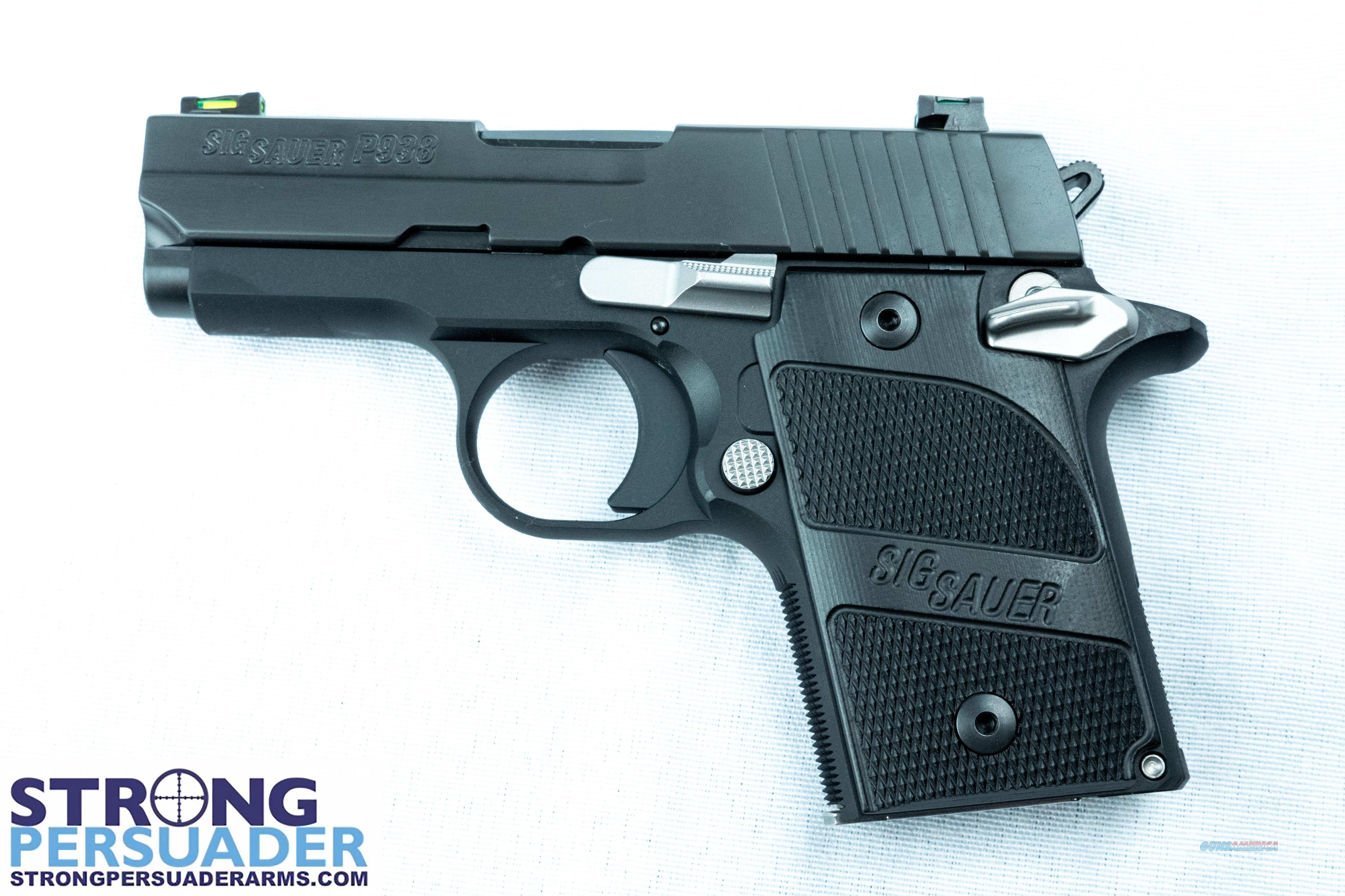 Sig Sauer P938  (938-9-NMR-AMBI)  Guns > Pistols > Sig - Sauer/Sigarms Pistols > P938