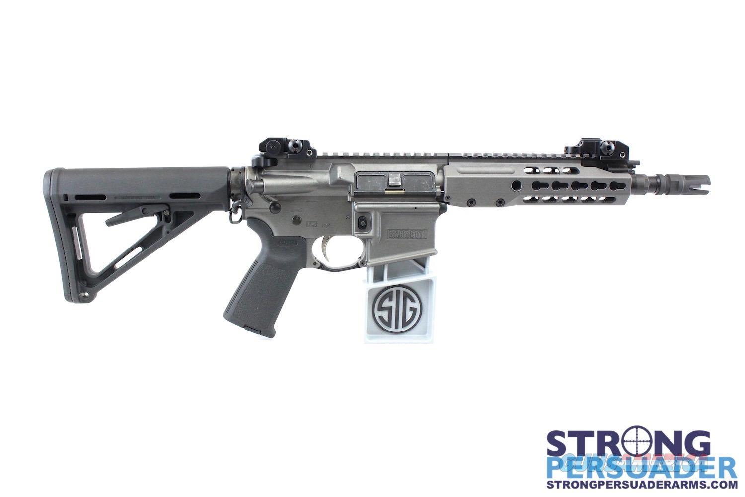 Barrett REC 7 SBR w/ Steiner DBAL-D2 and Leupold Tactical Scope  Guns > Rifles > Barrett Rifles