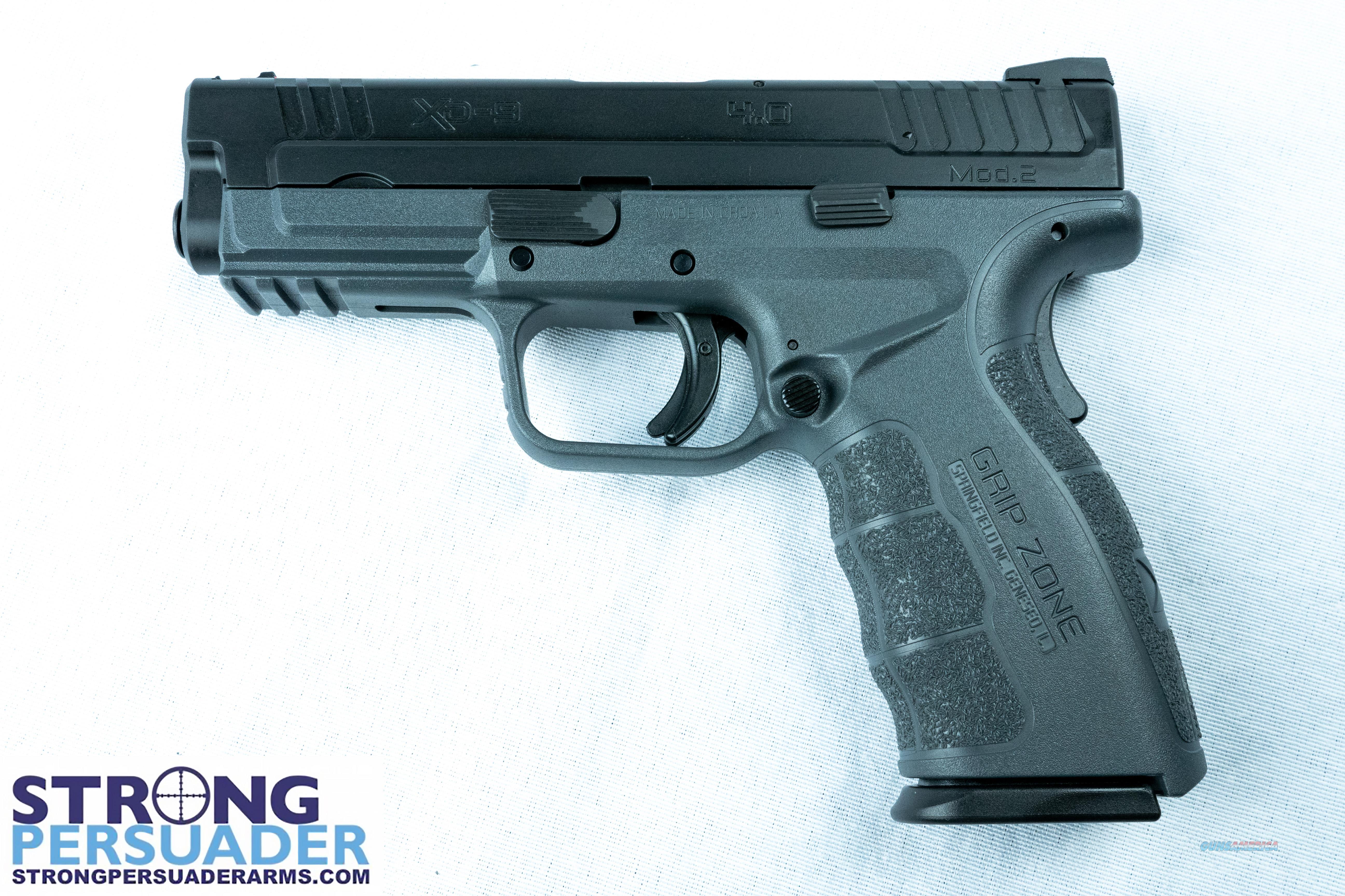 Springfield XD MOD.2  Service Model (XDG9101YHC)  Guns > Pistols > Springfield Armory Pistols > XD (eXtreme Duty)