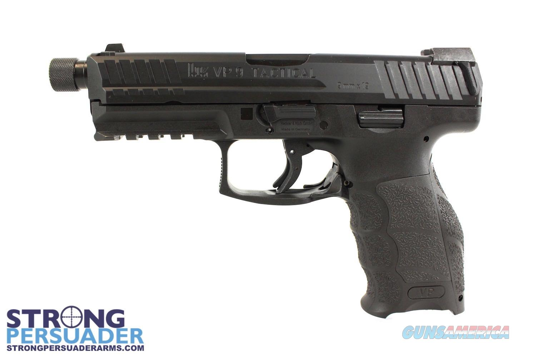 Heckler & Koch VP9 Tactical  Guns > Pistols > Heckler & Koch Pistols > Polymer Frame