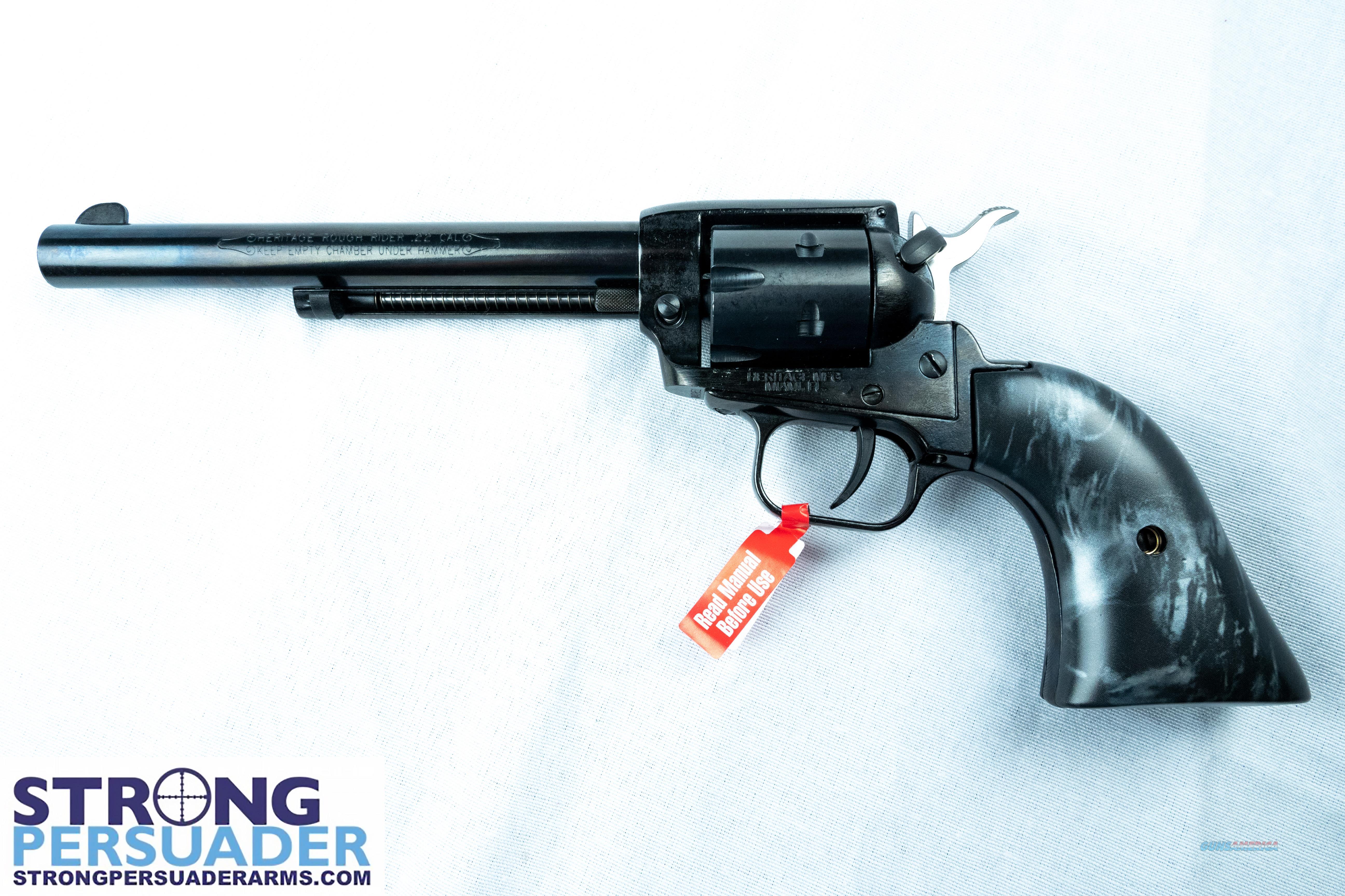 Heritage Rough Rider Black Pearl (RR22B6BLKPRL)  Guns > Pistols > Heritage