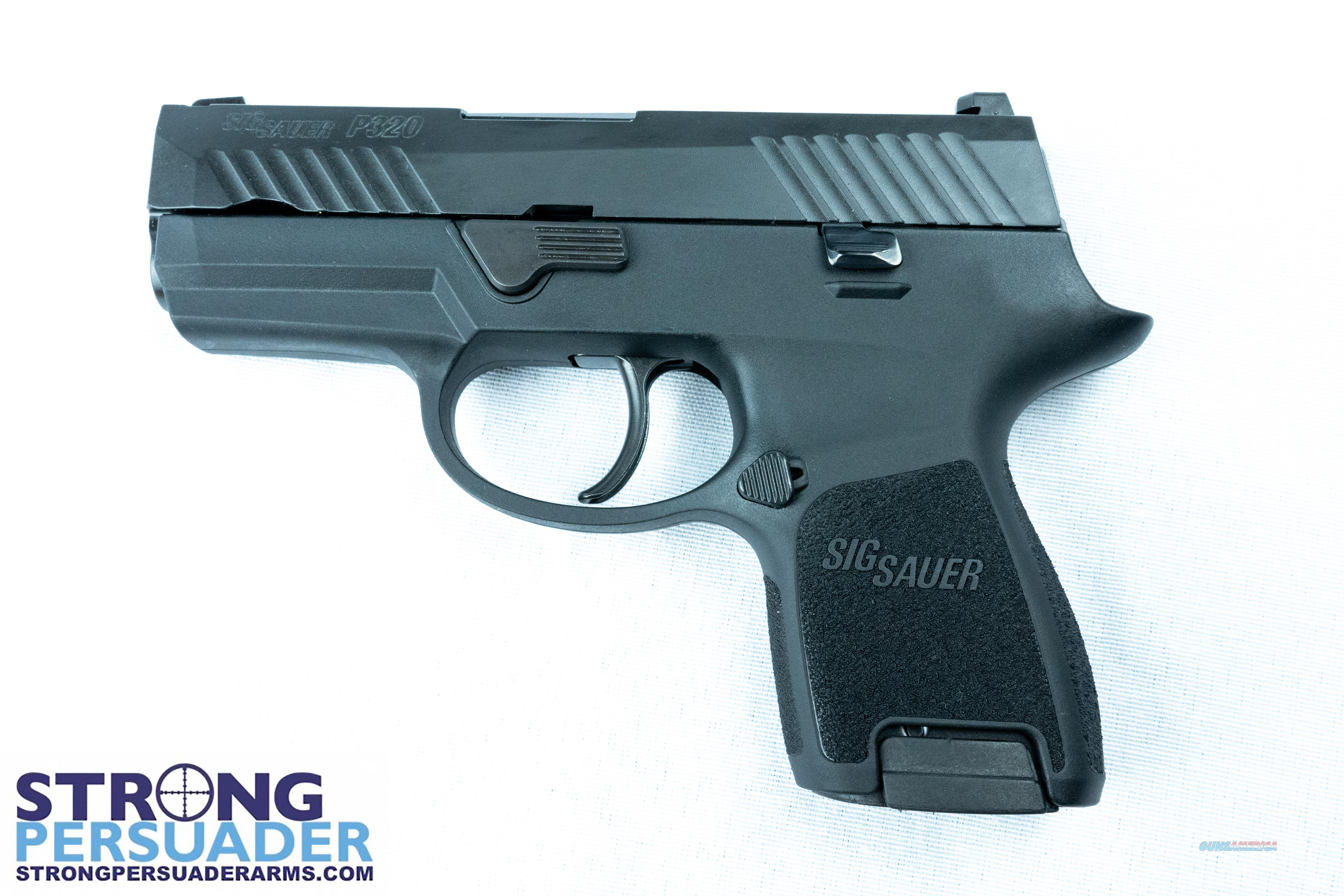 Sig Sauer P320 Sub Compact (320SC-9-BSS)  Guns > Pistols > Sig - Sauer/Sigarms Pistols > P320