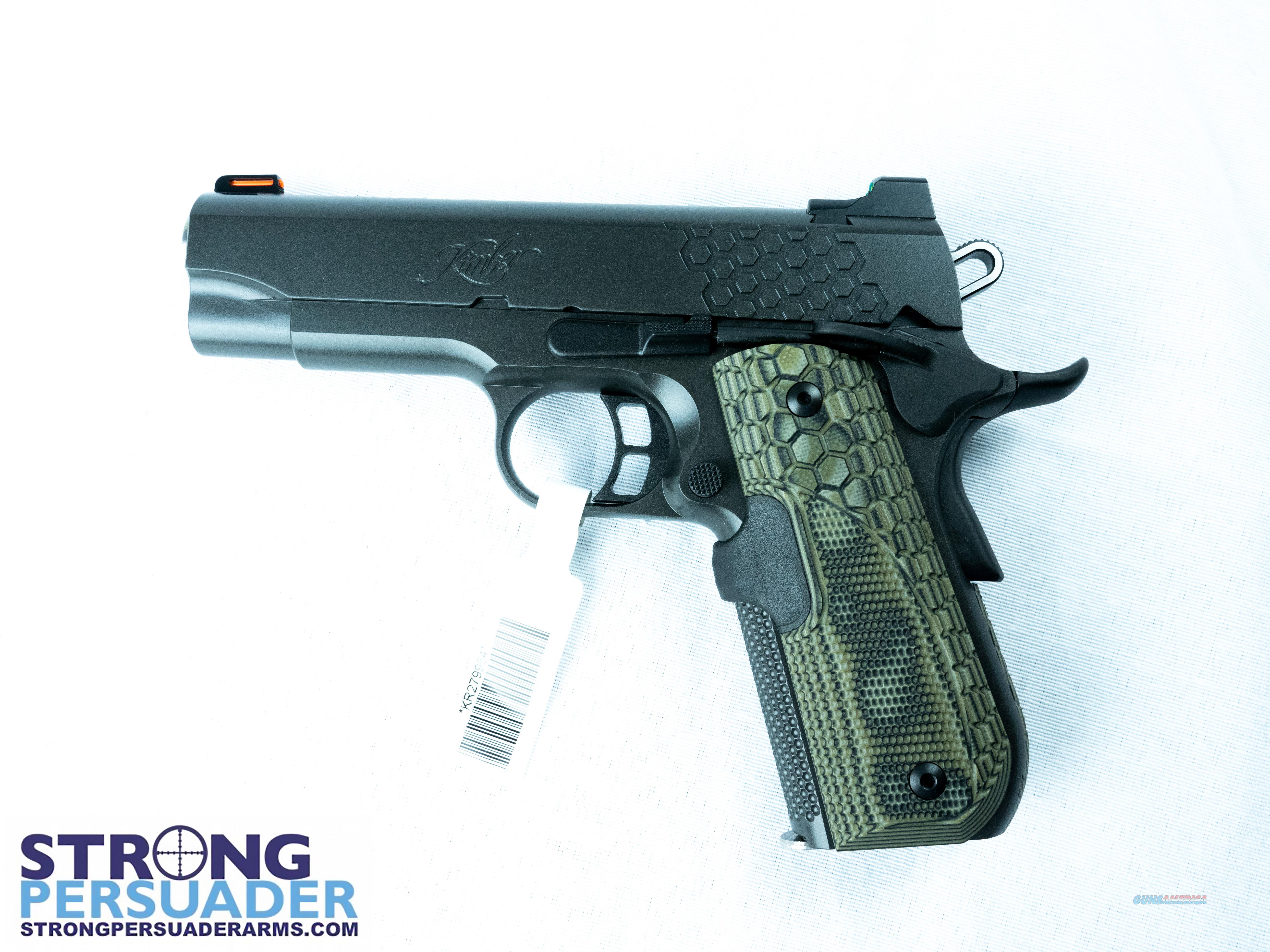 Kimber KHX Pro w/ Hogue Magrip Laser Grips (3000361)  Guns > Pistols > Kimber of America Pistols > 1911