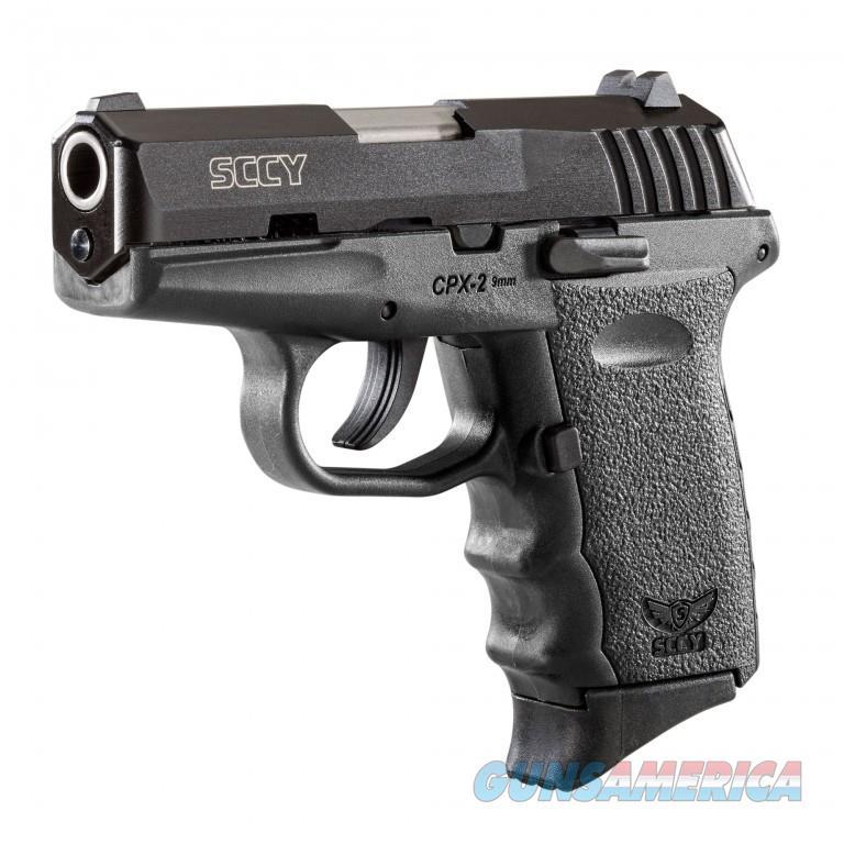 SCCY CPX-2 Gen 2 Carbon Black 9mm  Guns > Pistols > SCCY Pistols > CPX2